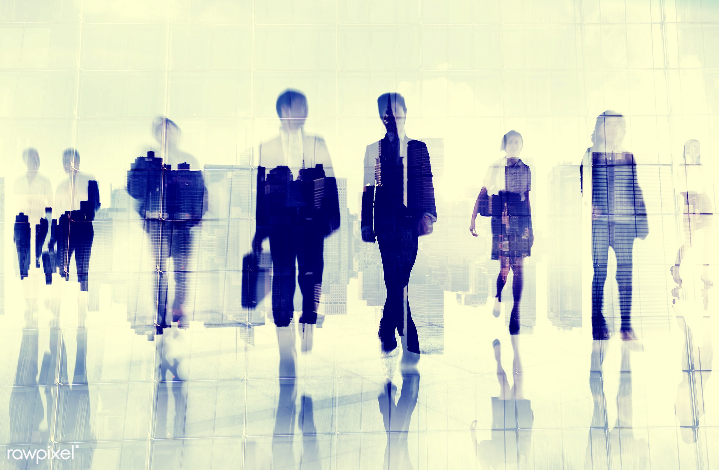 blurred motion, buildings, business, business district, business people, businessmen, businesswomen, city life, cityscape,...