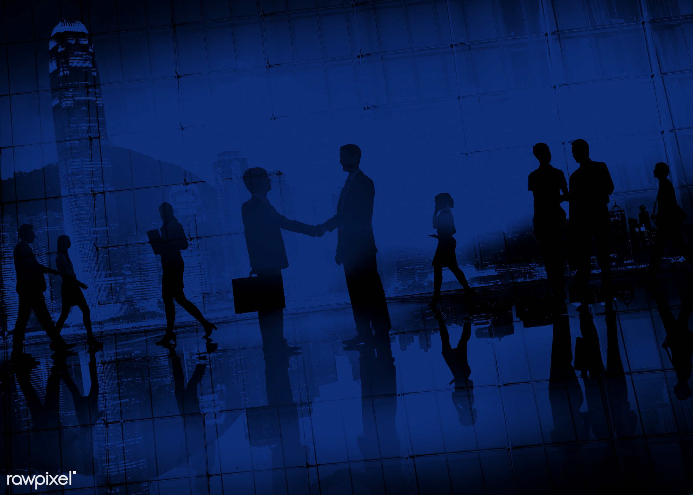 agreement, blue, brainstorming, building, business, business people, businessmen, businesswomen, city, cityscape,...