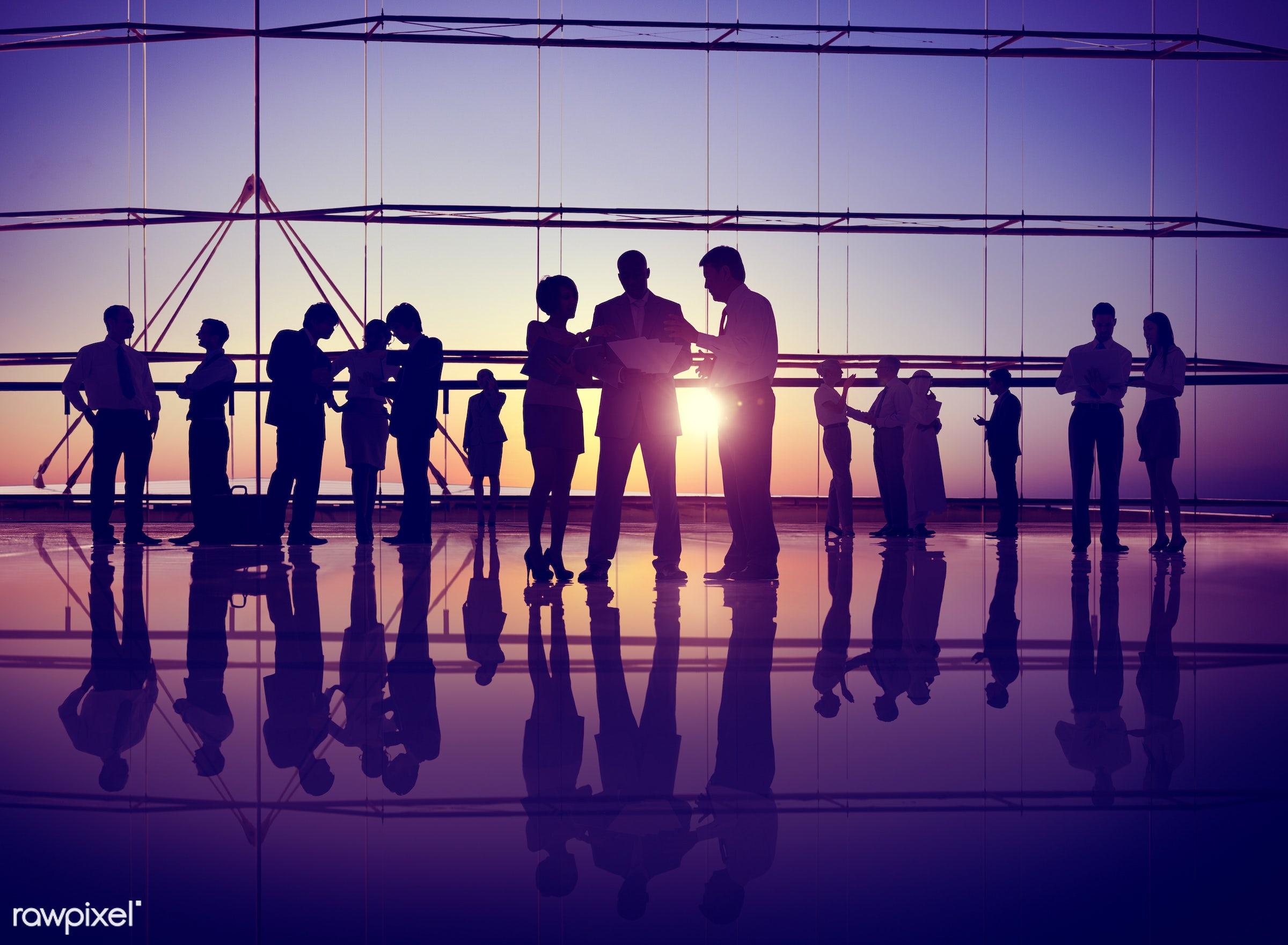 agreement, back lit, brainstorming, business, business people, businessmen, businesswomen, busy, colleague, communication,...