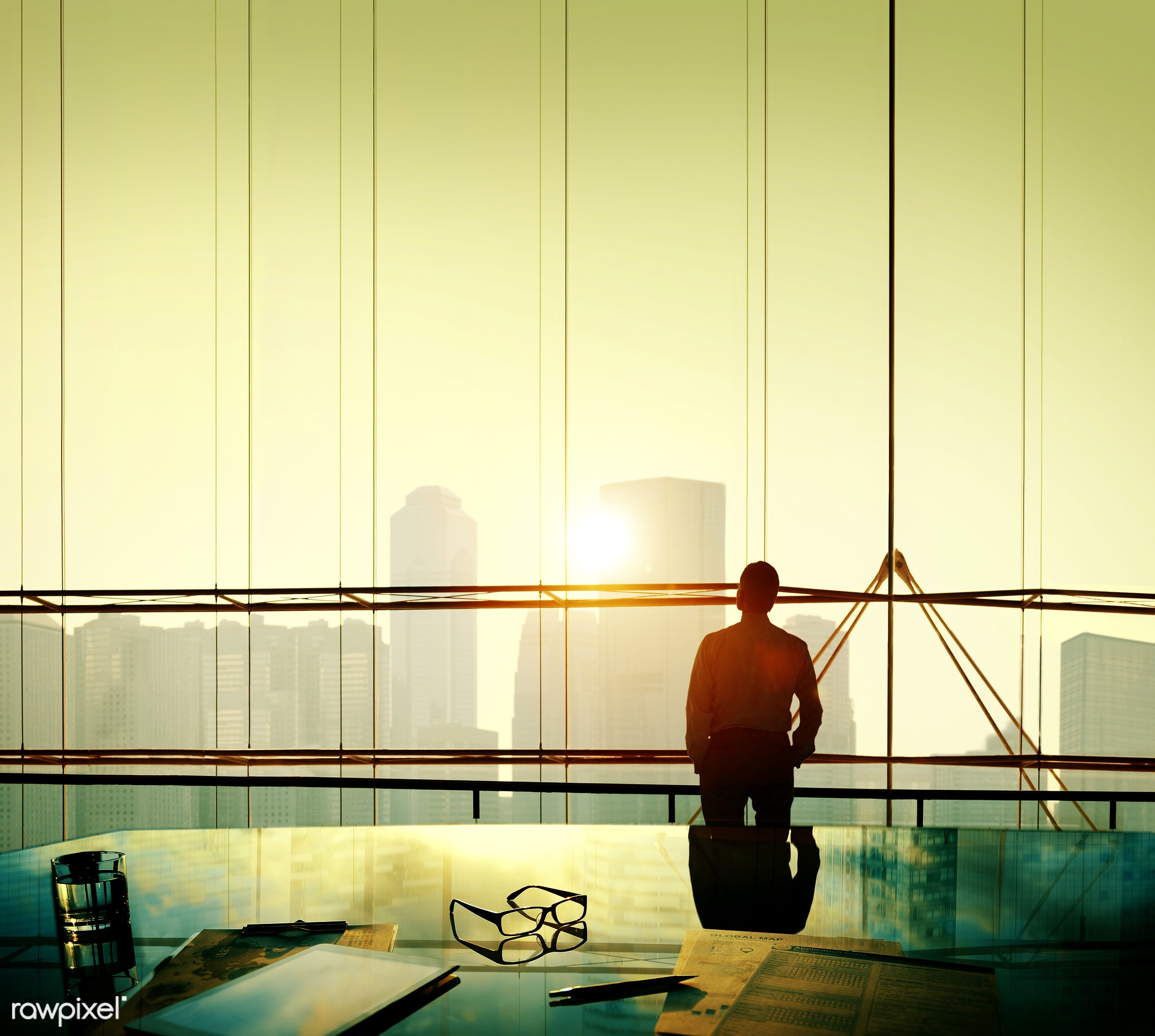 alone, aspiration, backlit, boss, building, business, businessman, city, cityscape, contemplating, contemplation, day...