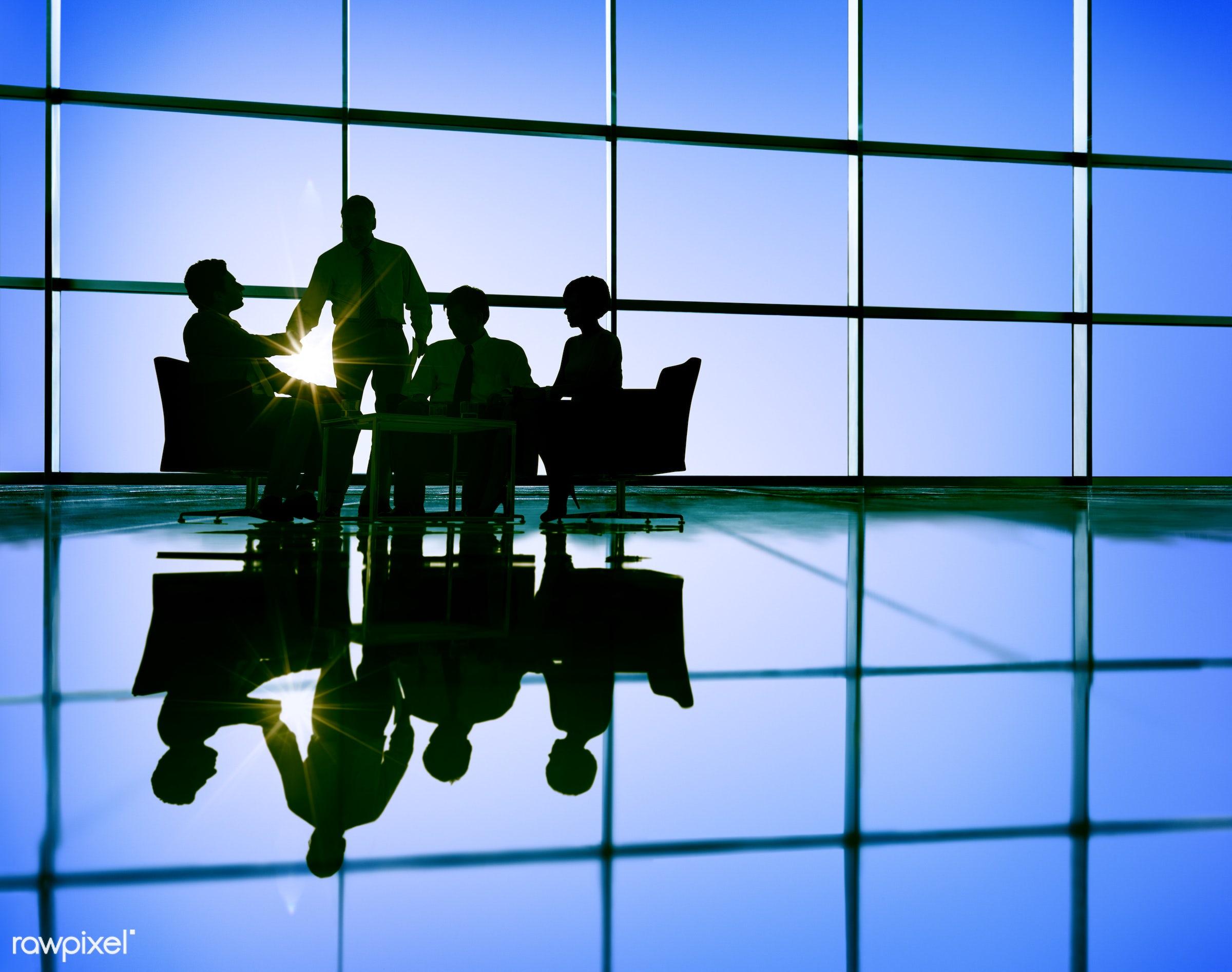 african descent, arabic, backlit, business, business people, businessmen, businesswomen, collaboration, colleagues,...