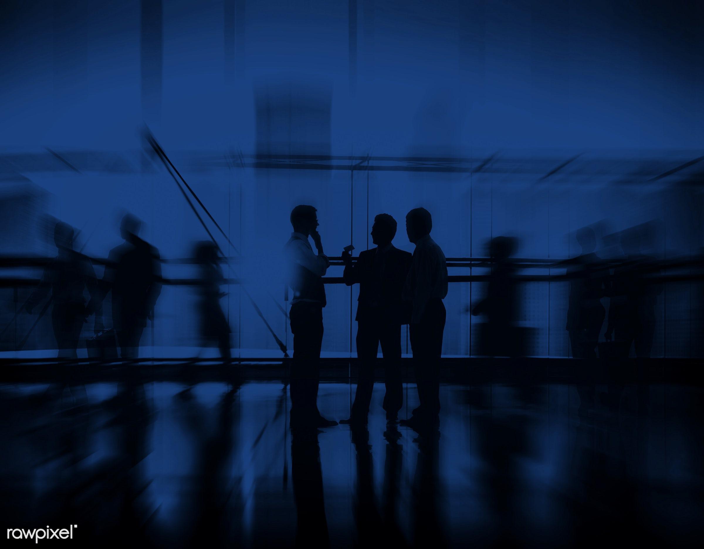 adult, back lit, blue, brainstorming, building, business, business people, businessmen, businesswomen, city, city life,...