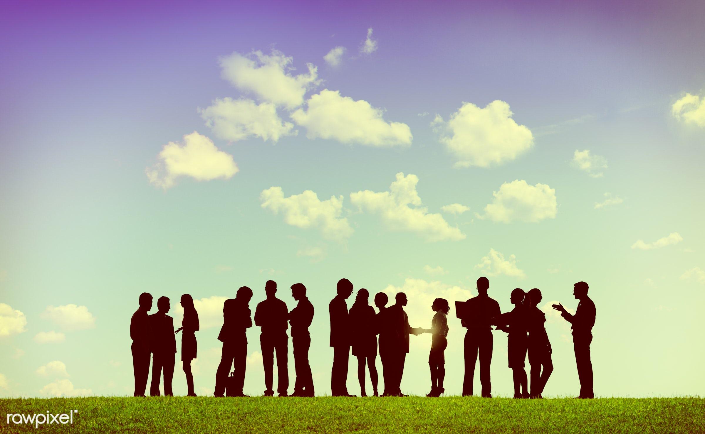 aspiration, brainstorming, business, business people, businessmen, businesswomen, cloud, cloudscape, collaboration,...