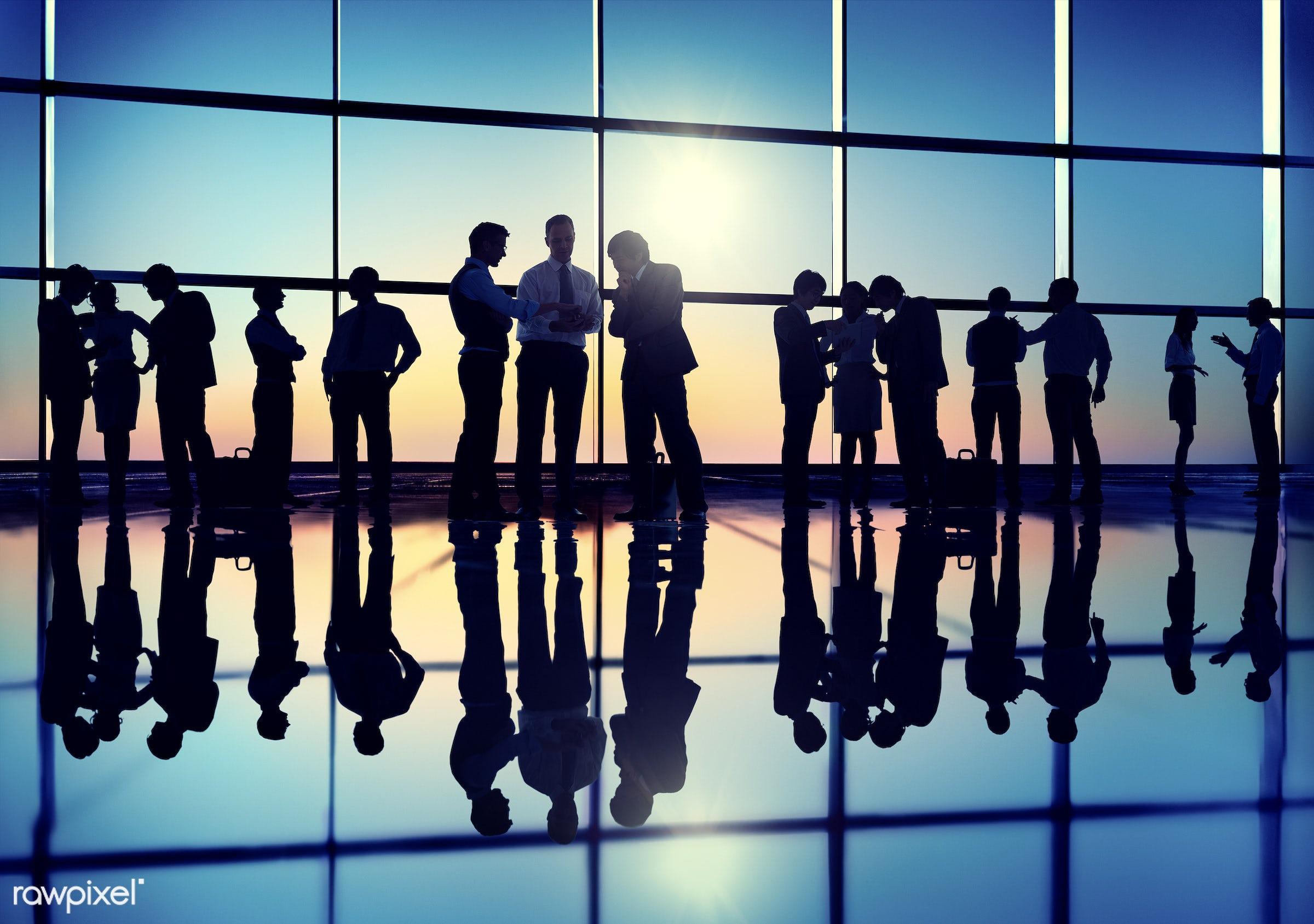 back lit, building, business, business people, businessmen, businesswomen, communication, community, commuter, contemporary...