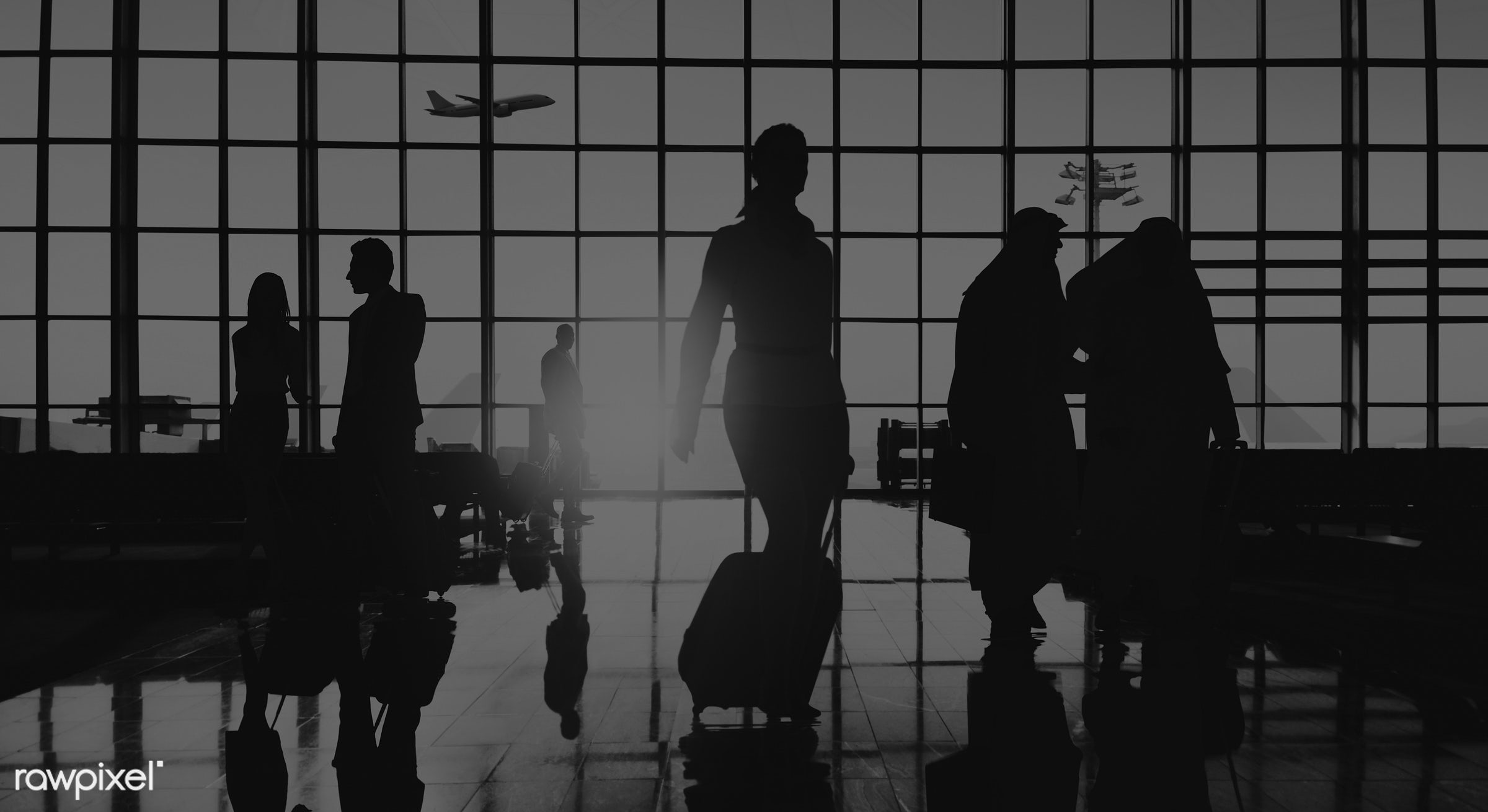 airplane, airport, back lit, building, business, business people, business travel, businessmen, businesswomen, colleague,...