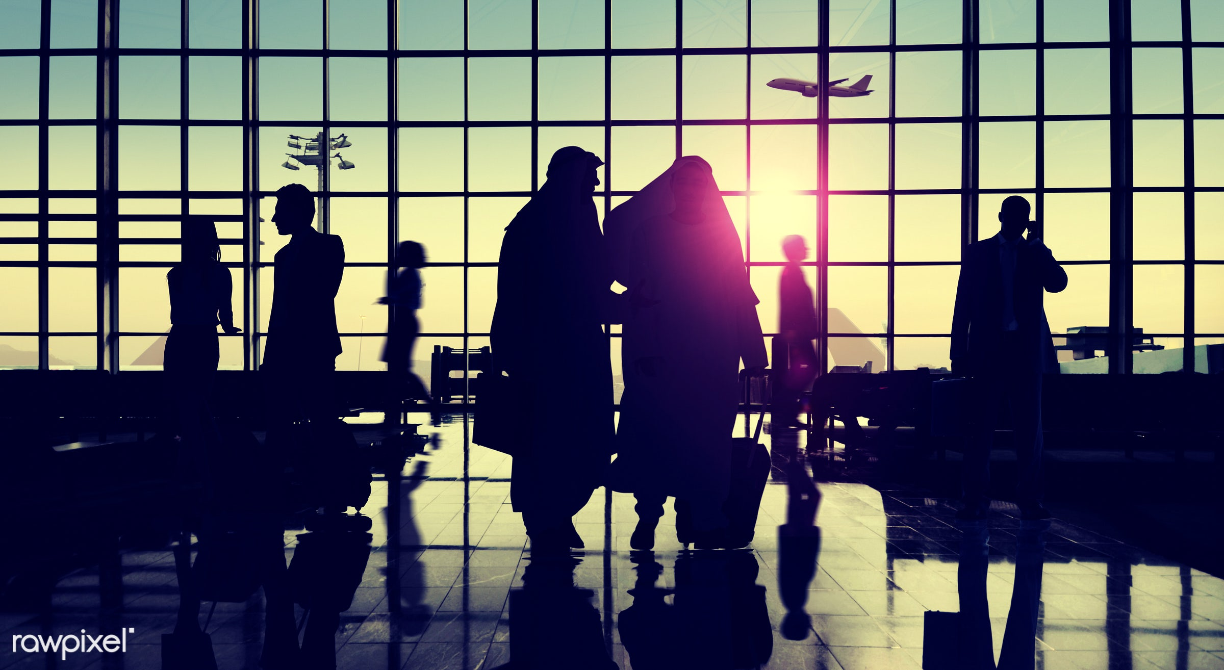 airplane, airport, back lit, business, business people, business travel, businessmen, businesswomen, colleague, commuter,...