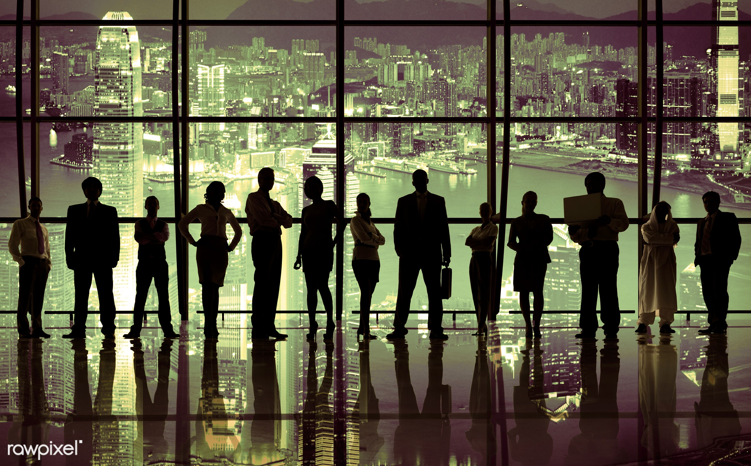 african descent, asian ethnicity, business, business meeting, business strategy, businessmen, businesswomen, city, cityscape...