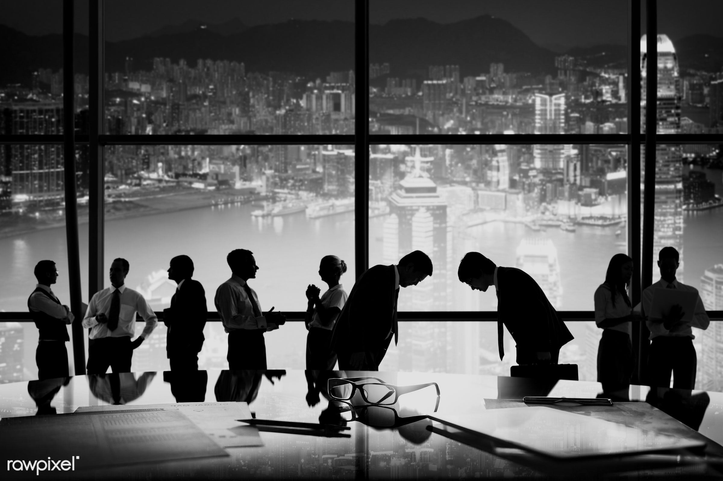 bowing, brainstorming, building, business, business people, businessmen, businesswomen, busy, city, cityscape, colleague,...