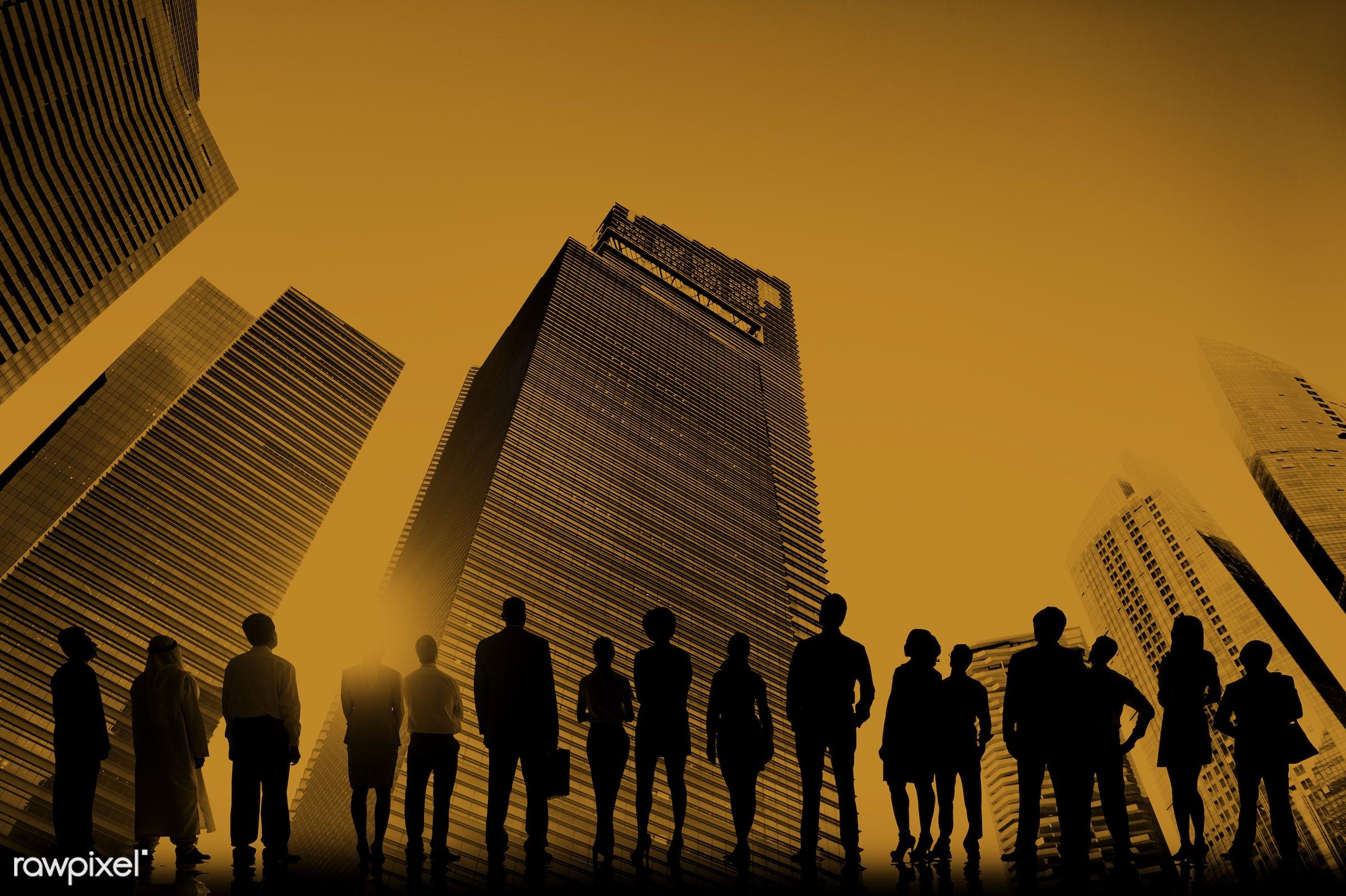 achievement, adult, building, business, business people, businessmen, city, cityscape, collaboration, colleagues,...