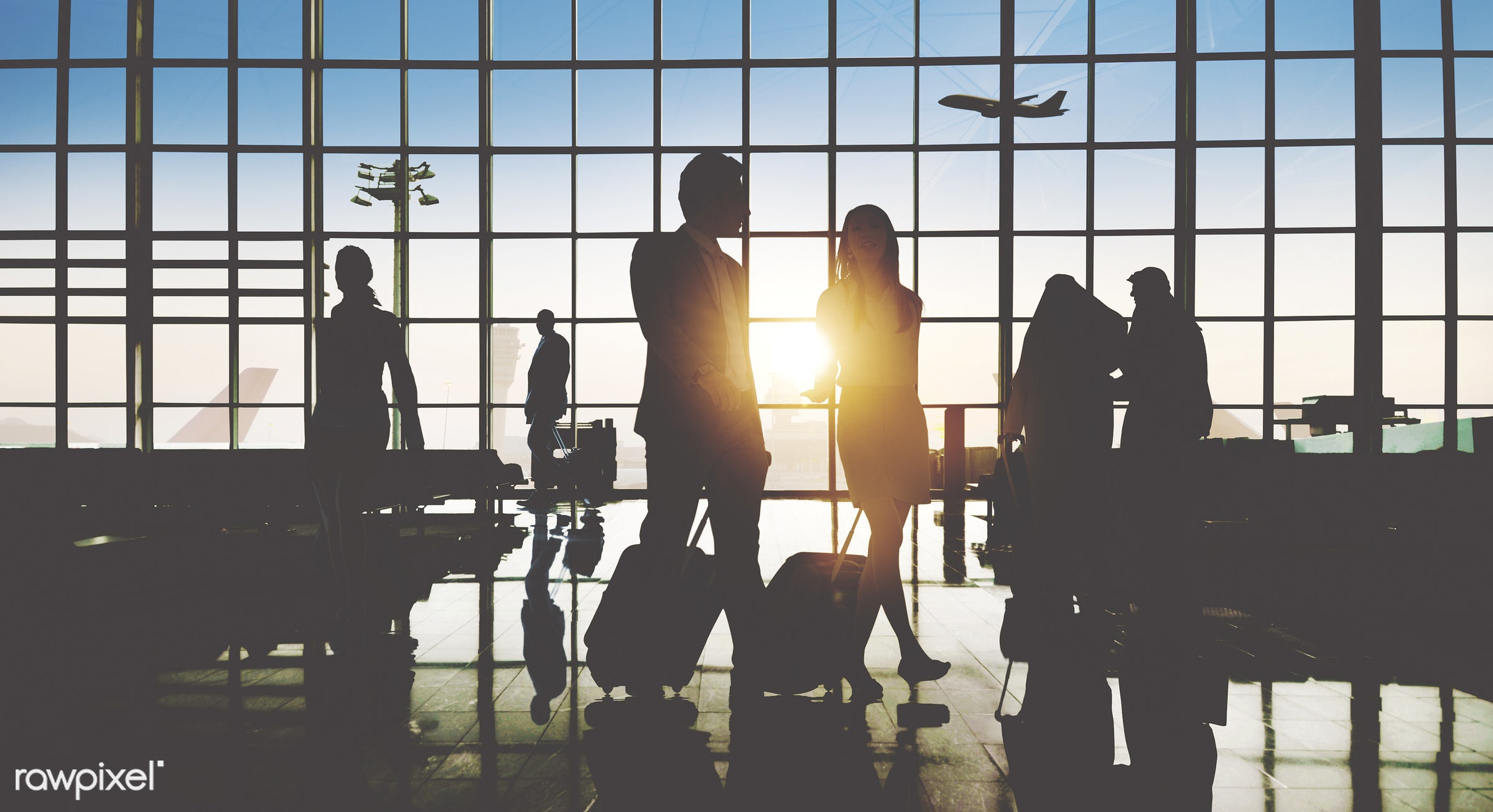 3d, aircraft, airplane, airport, airport lounge, architecture, asian ethnicity, back lit, baggage, business, business people...