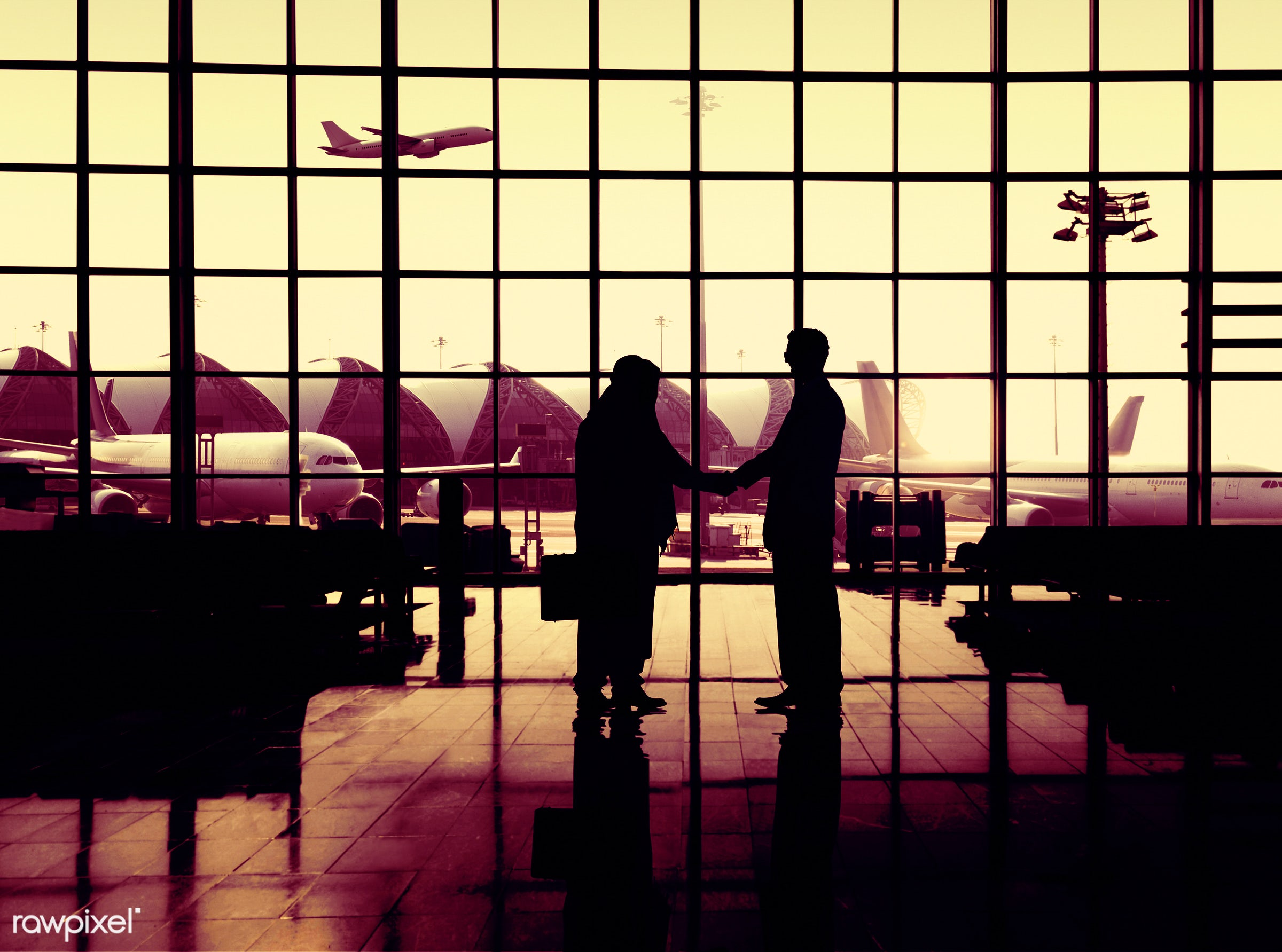 3d, agreement, aircraft, airplane, airport, airport lounge, architecture, briefcase, building, business, business people,...
