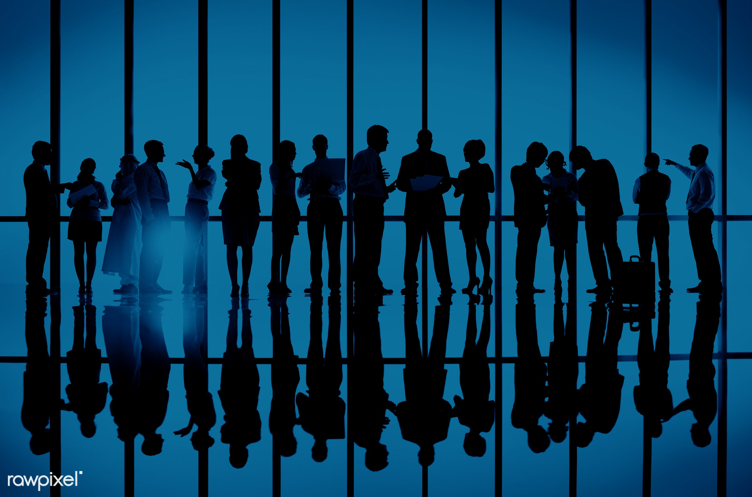 assistance, back lit, blue, brainstorming, building, business, business people, businessmen, businesswomen, collaboration,...