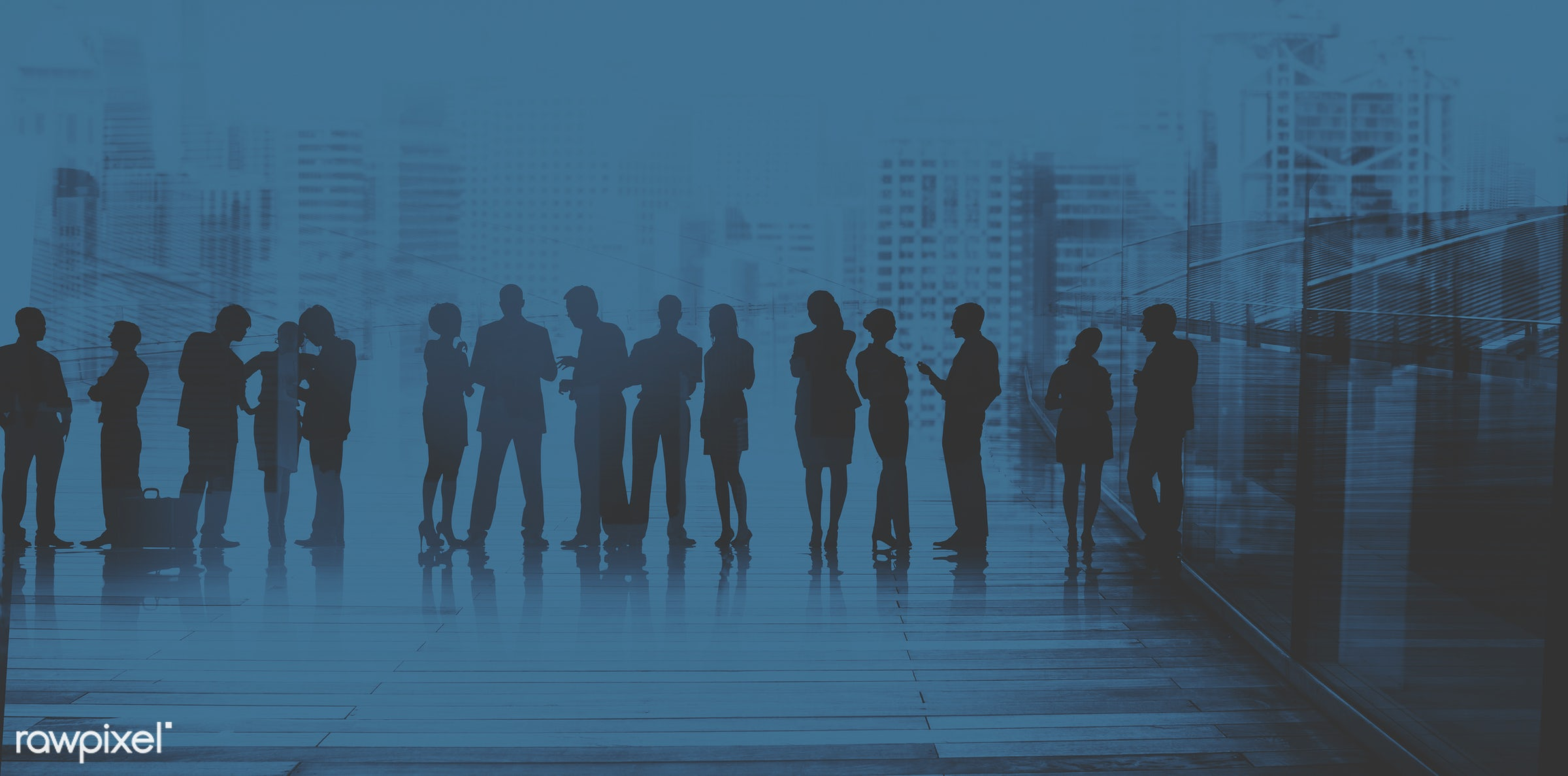 abstract, back lit, blue, brainstorming, building, business, business people, businessmen, businesswomen, city, city life,...