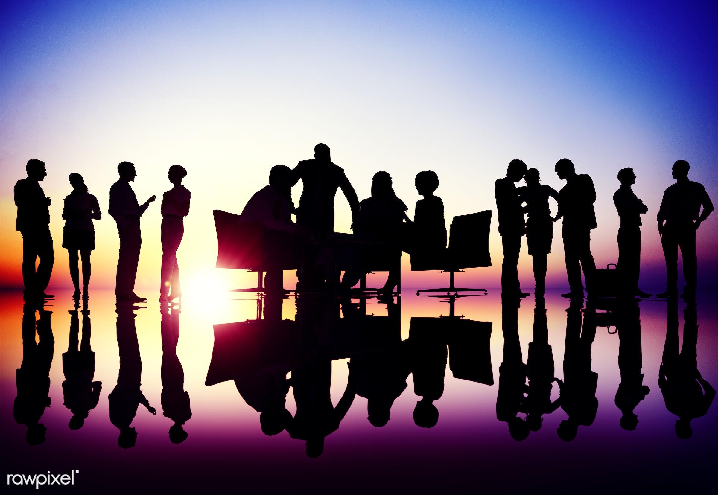 assistance, back lit, brainstorming, building, business, business people, businessmen, businesswomen, collaboration,...