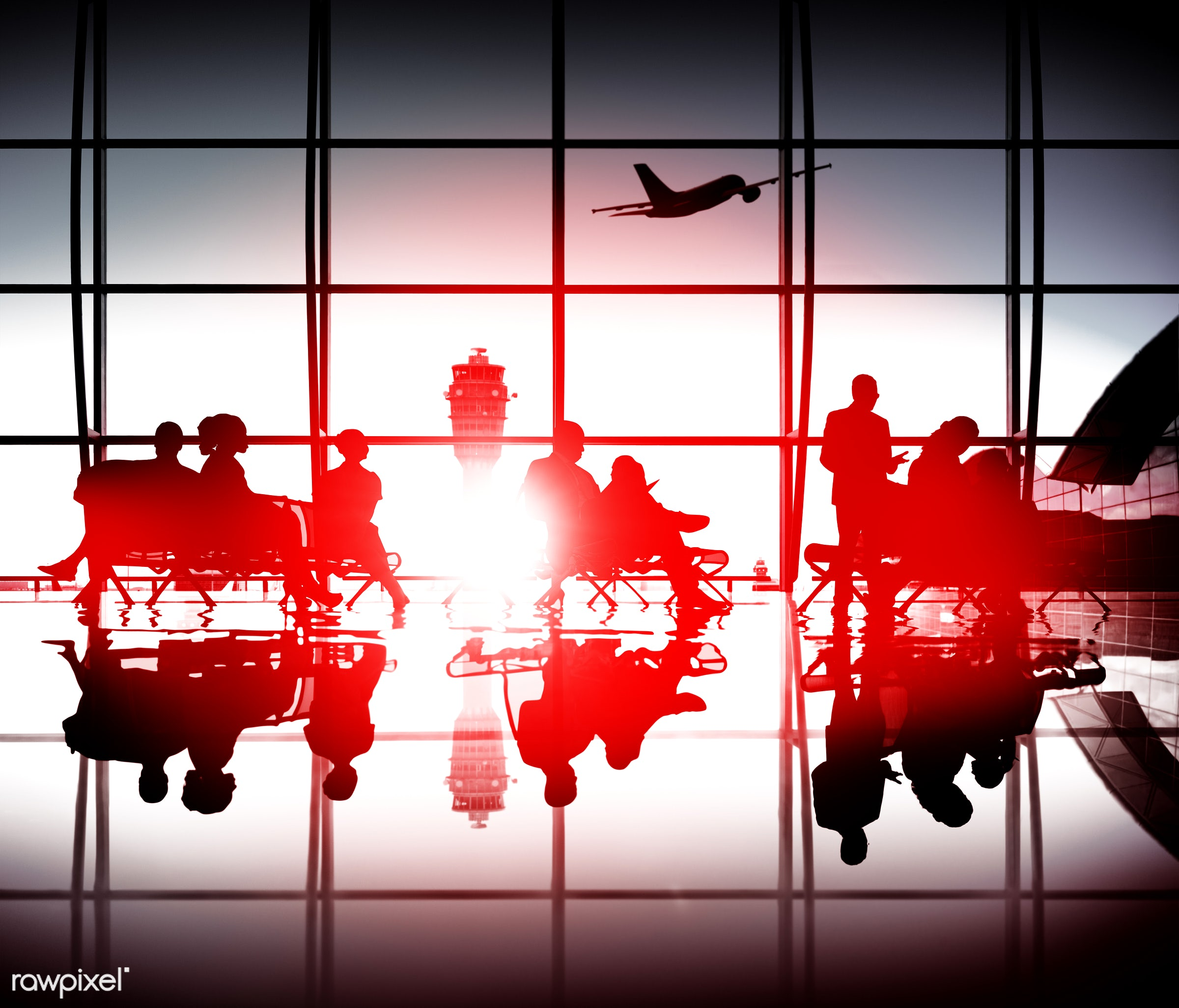 aircraft, airline, airplane, airport, arrival, back lit, business, business people, business travel, businessmen,...