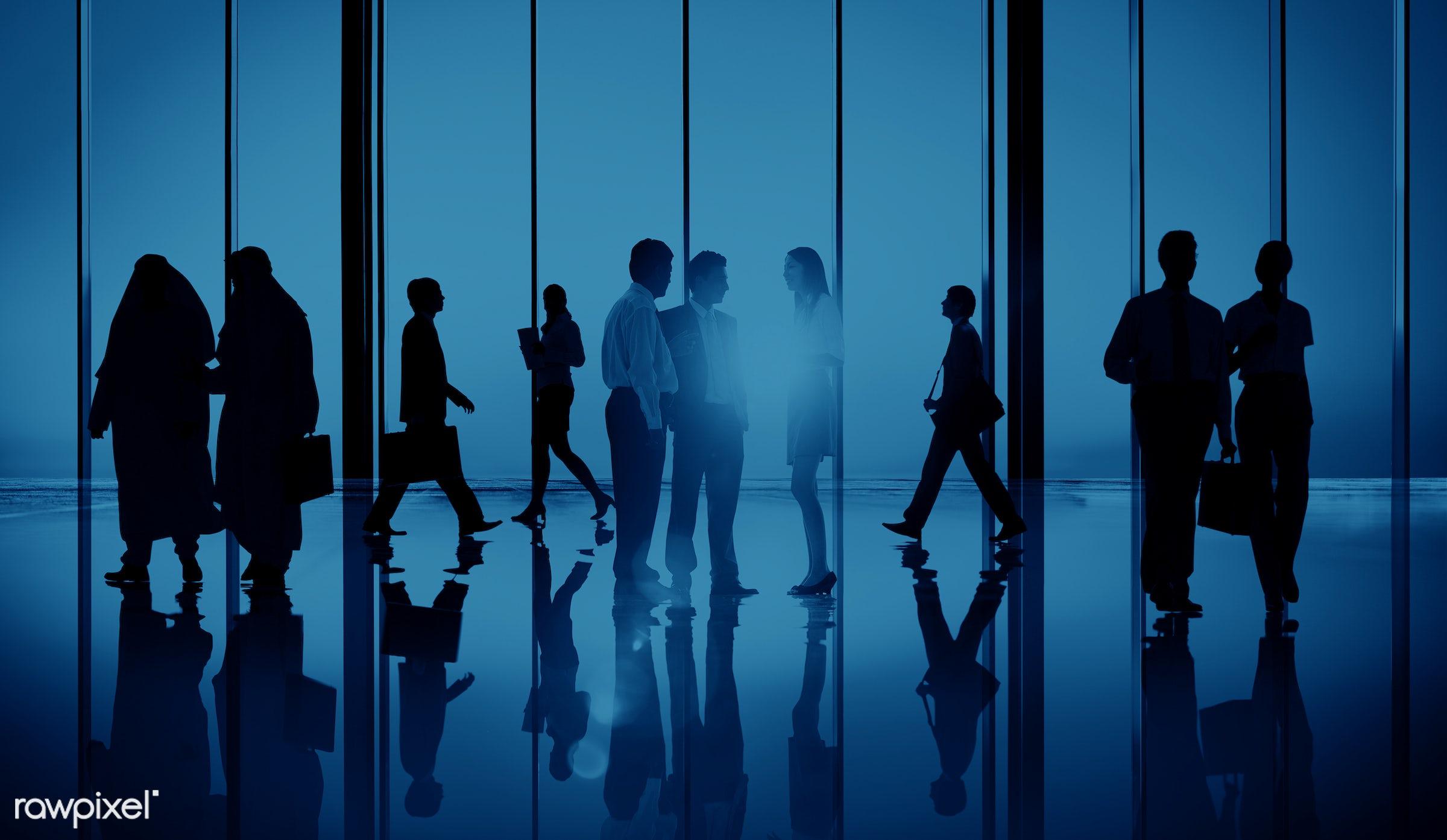 asian ethnicity, back lit, blue, brainstorming, building, business, business people, businessmen, businesswomen,...
