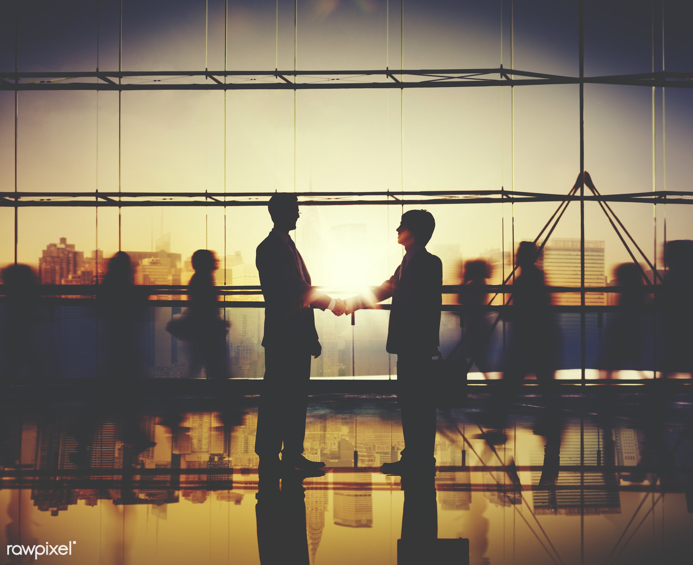 achievement, agreement, back lit, building, business, business people, businessmen, businesswomen, city, cityscape,...