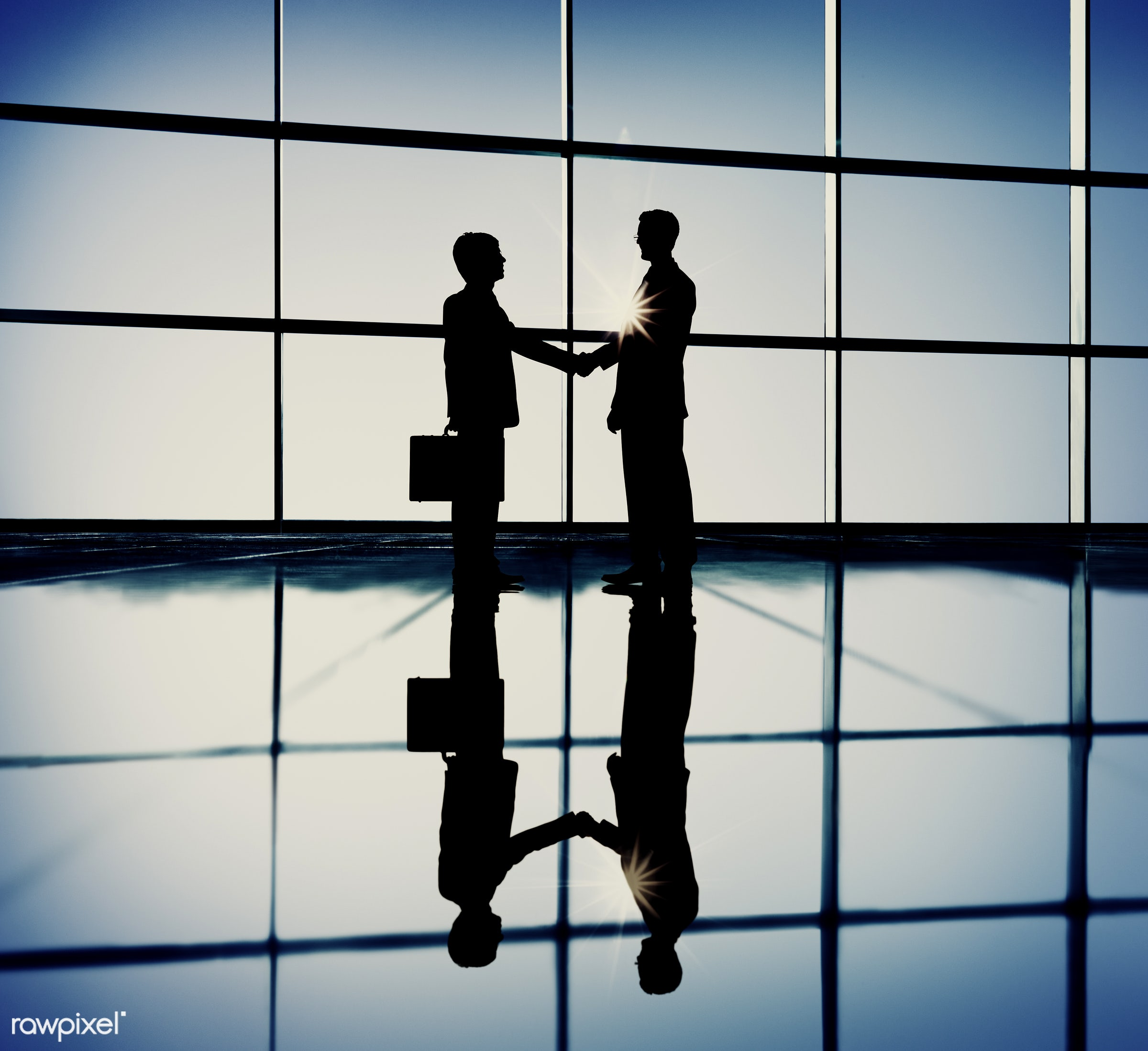 agreement, back lit, blue, building interior, business, business people, business person, businessmen, communication,...