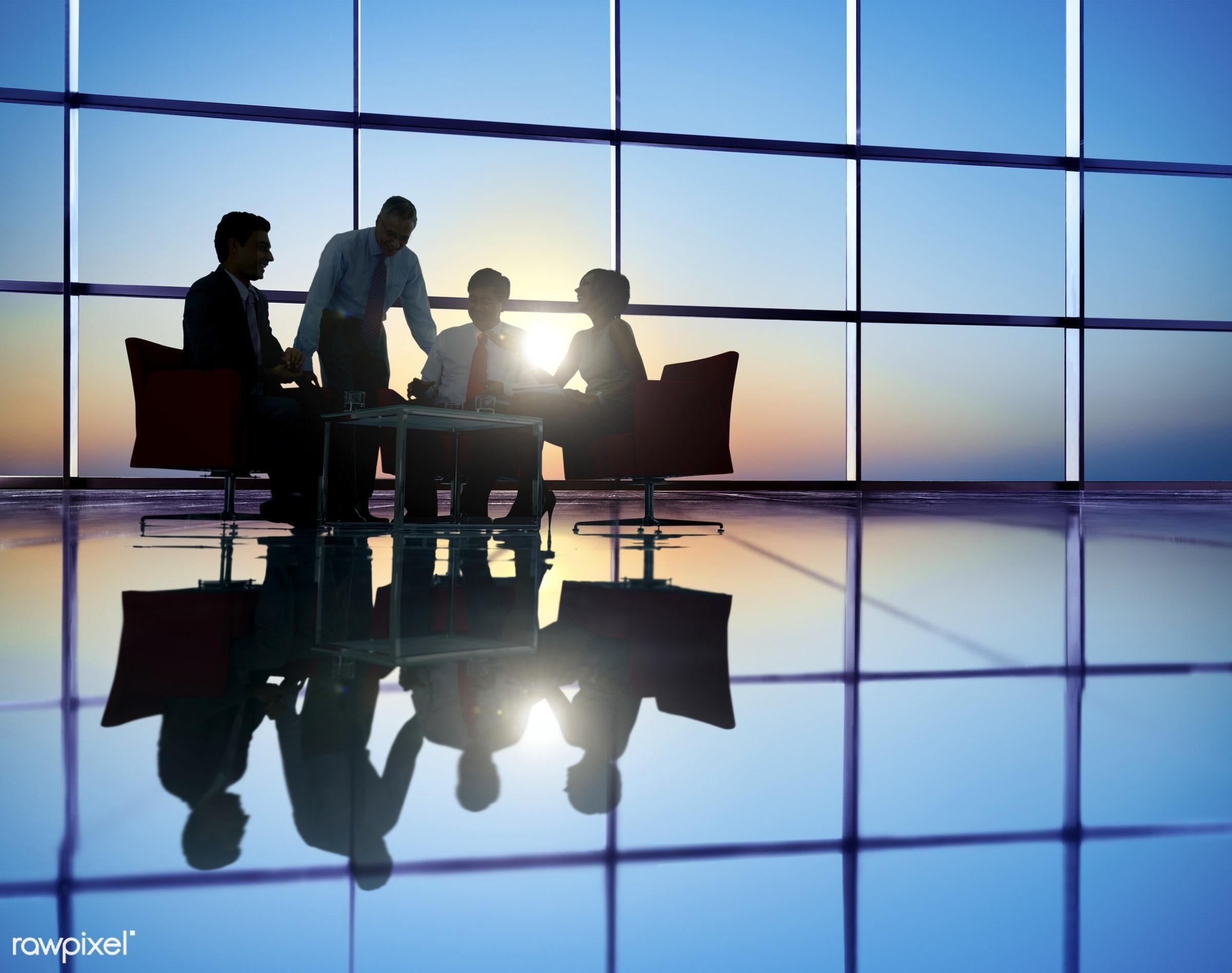 handshake, achievement, adult, analyzing, back lit, board room, brainstorming, business, business people, businessmen,...