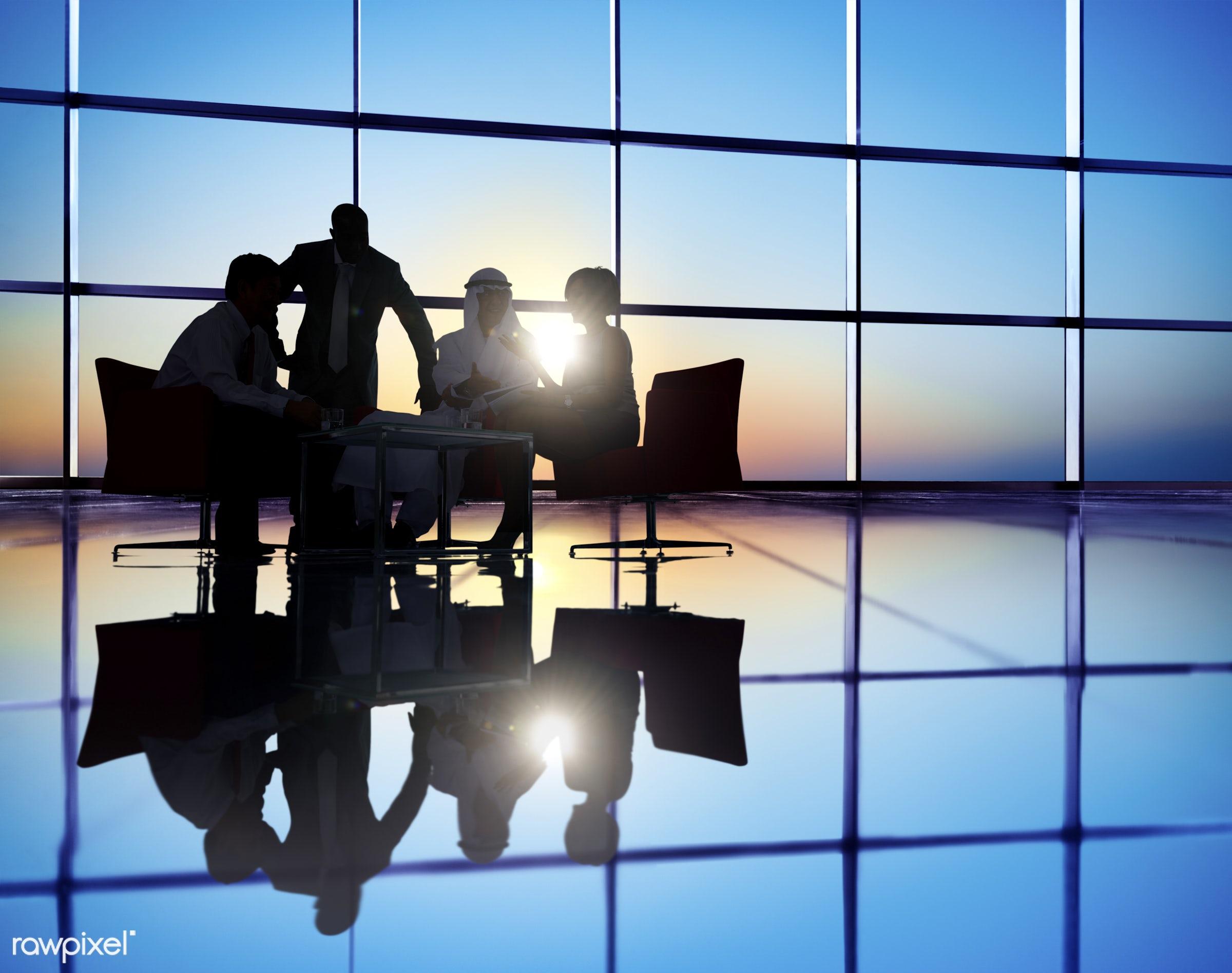 backlit, business, business people, businessmen, businesswomen, colleagues, communication, concepts, conference, connection...
