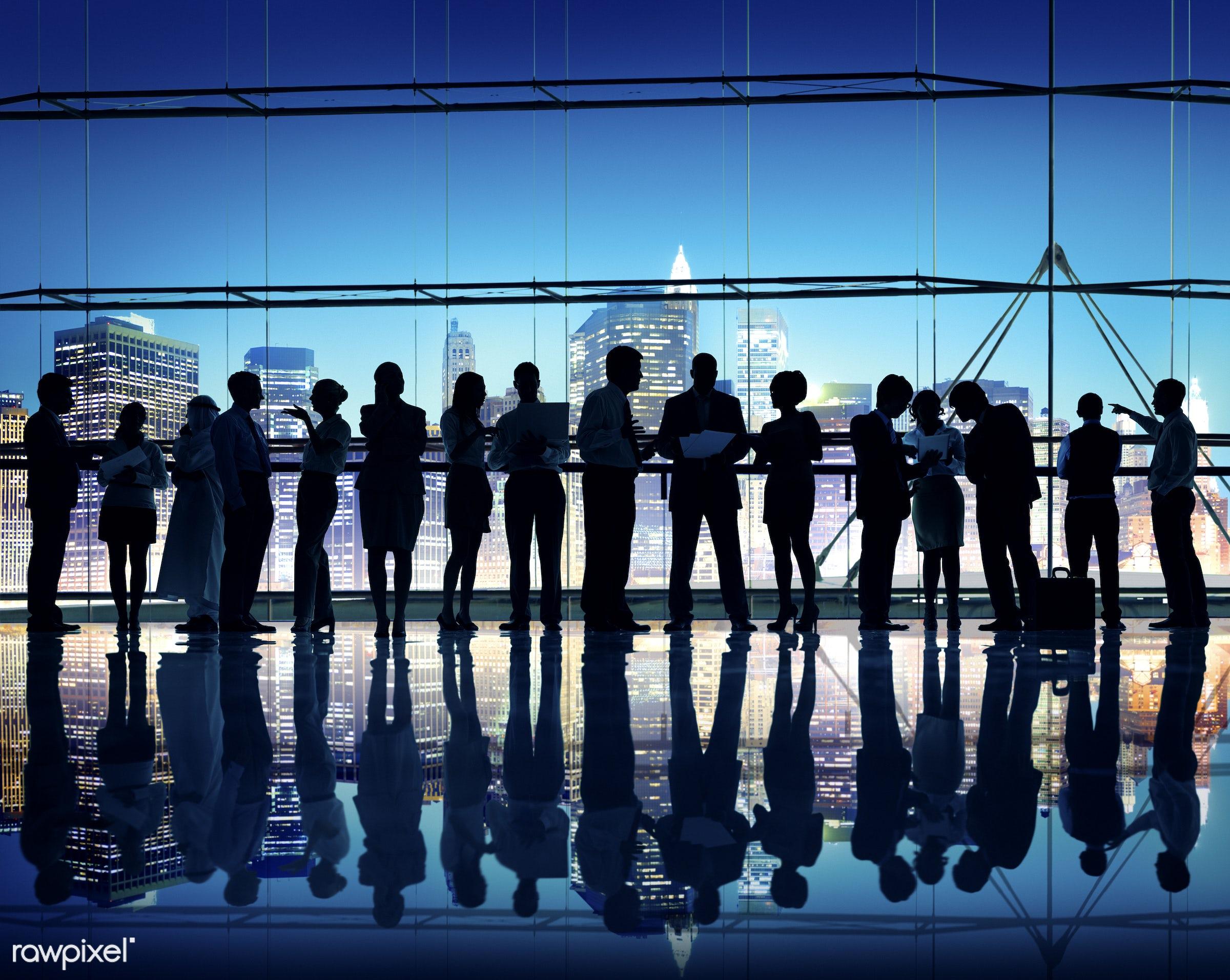 assistance, back lit, black, board room, building interior, business, business people, business person, businessman,...
