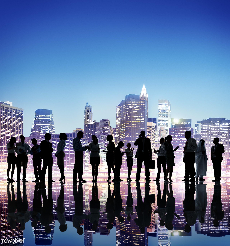 backlit, brainstorming, building, business, business people, businessmen, businesswomen, cityscape, colleagues,...