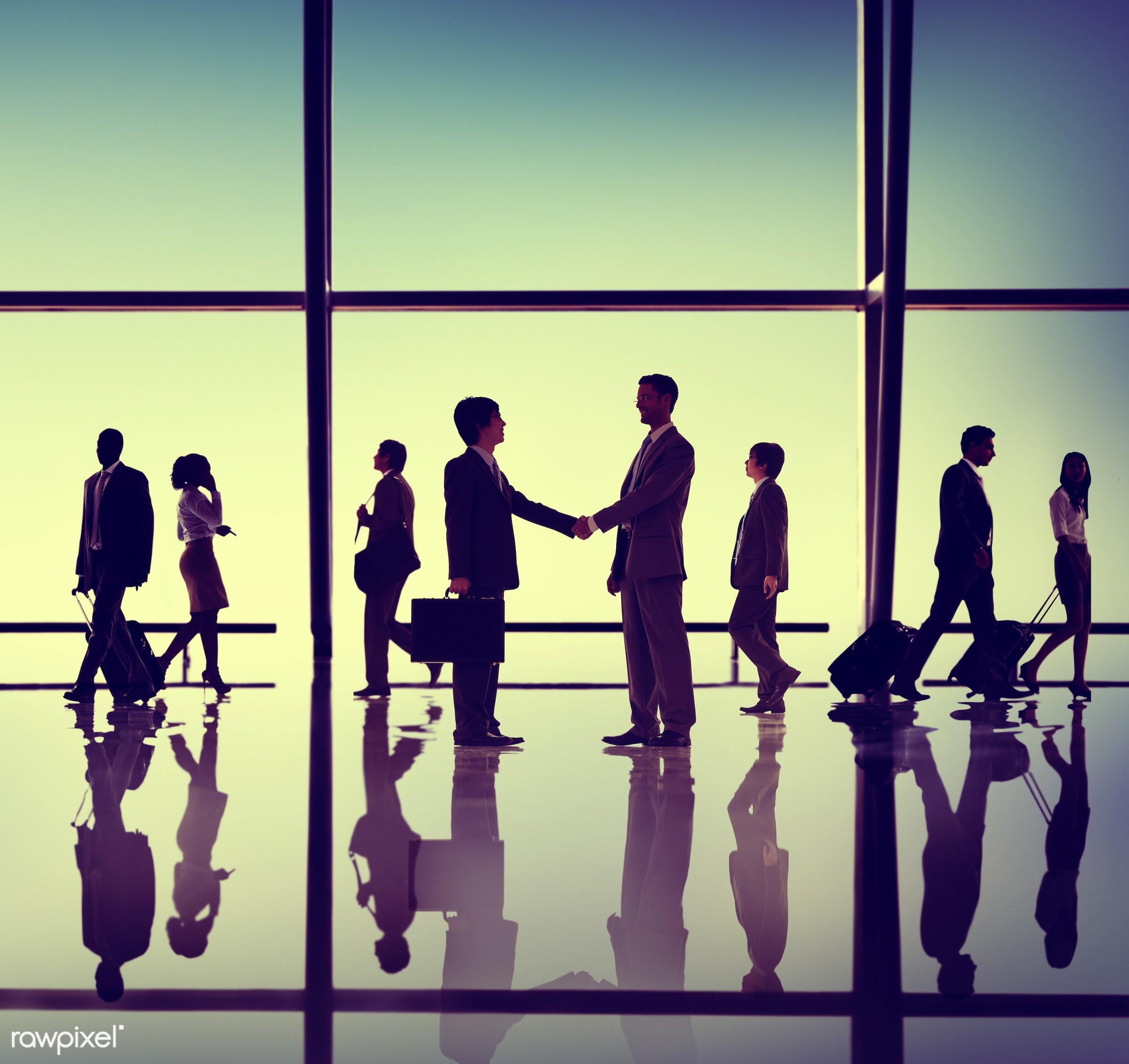 agreement, backlit, business, business people, businessmen, businesswomen, colleagues, communication, concepts, connection,...
