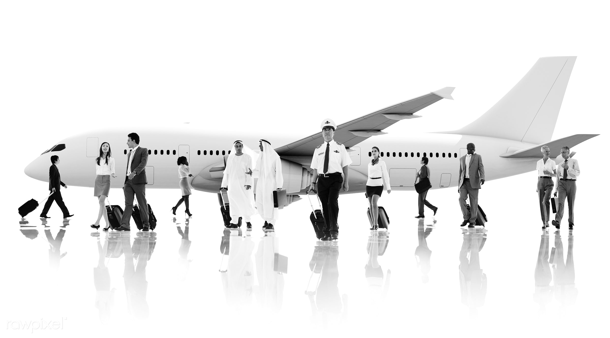 african, african descent, air stewardess, airplane, asian, asian ethnicity, business people, business travel, businessmen,...
