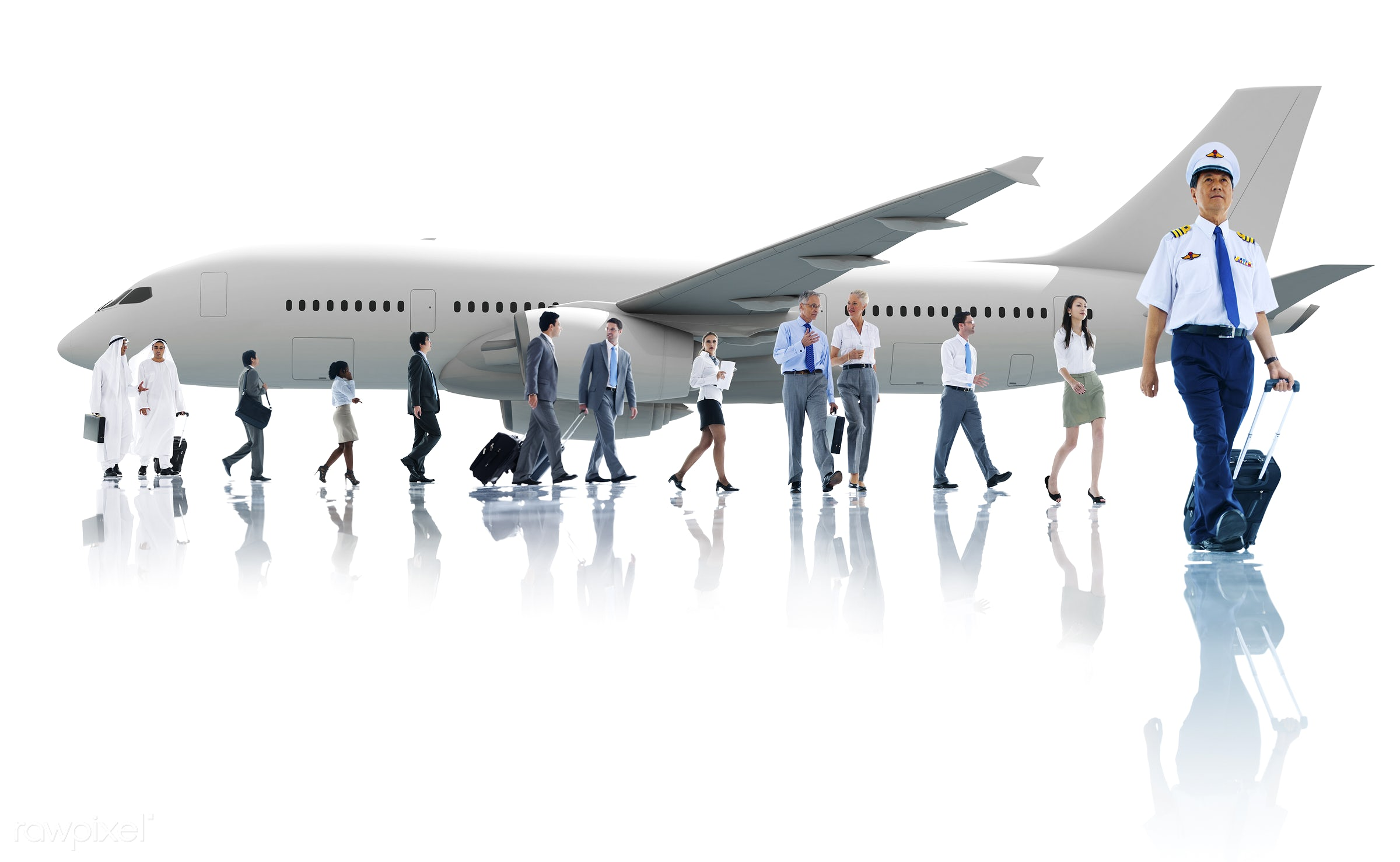 cabin crew, african descent, air stewardess, airplane, airport, asian, asian ethnicity, boarding, business, business people...