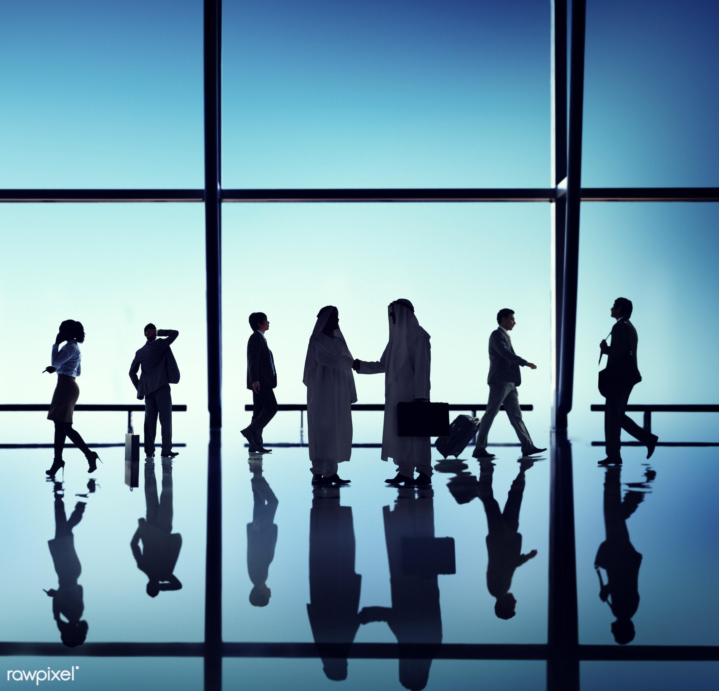 agreement, backlit, blue, business, business people, businessmen, businesswomen, calling, colleagues, communication,...