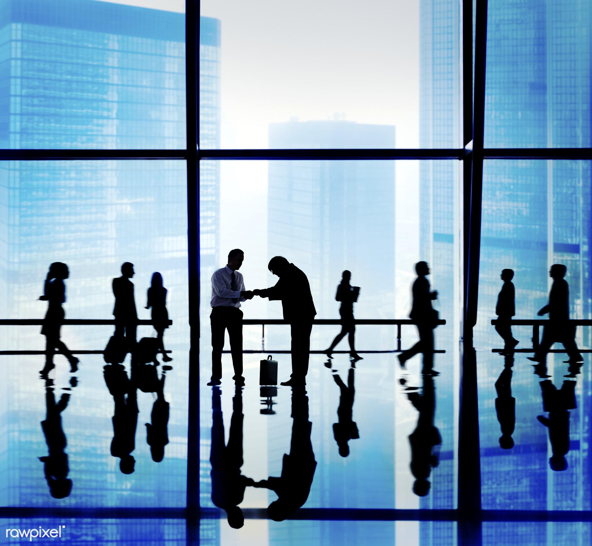 asian ethnicity, backlit, blue, blurred motion, buildings, business, business people, businessmen, businesswomen, calling,...