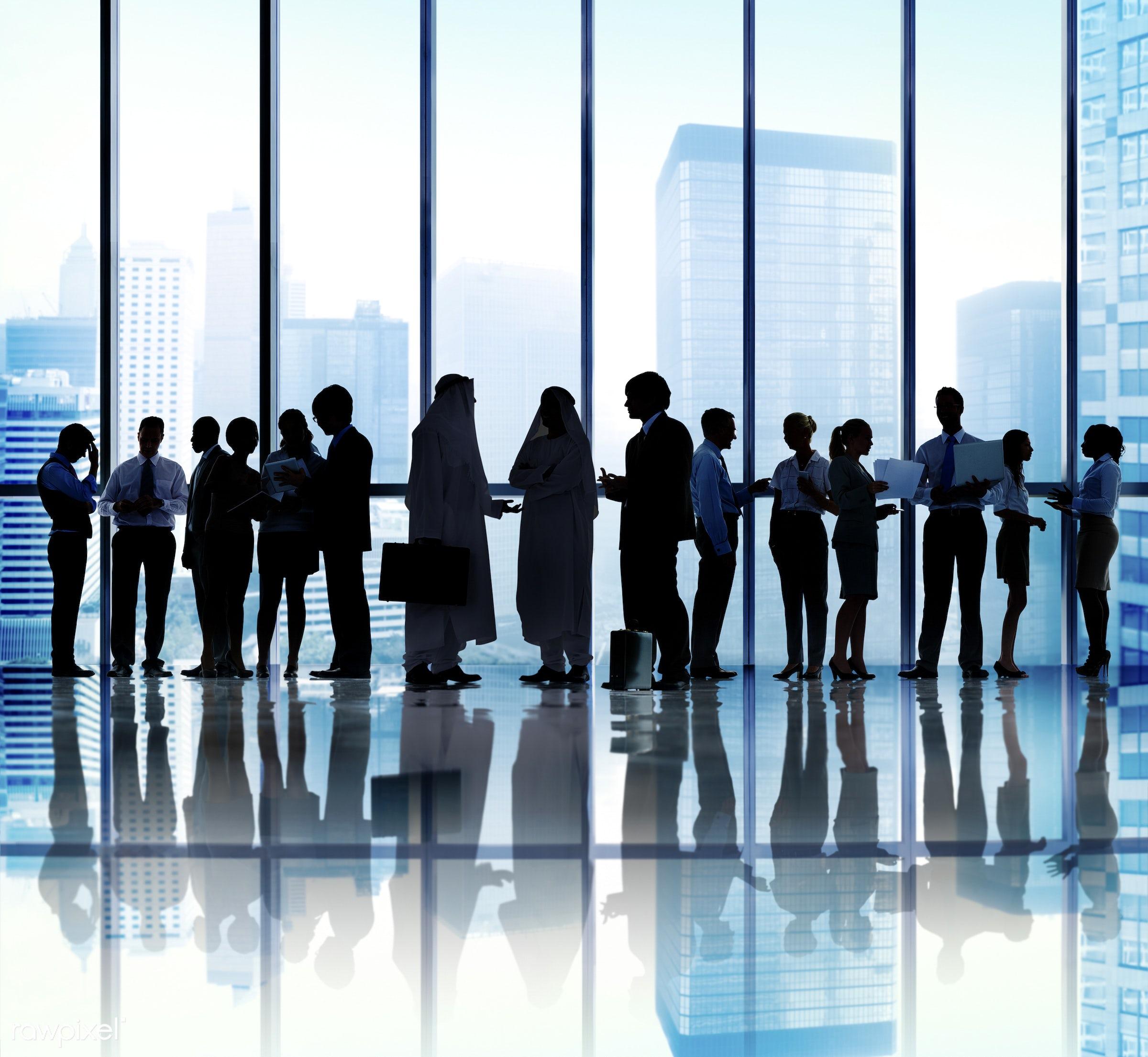 backlit, brainstorming, buildings, business, business people, businessmen, businesswomen, city, colleagues, communication,...