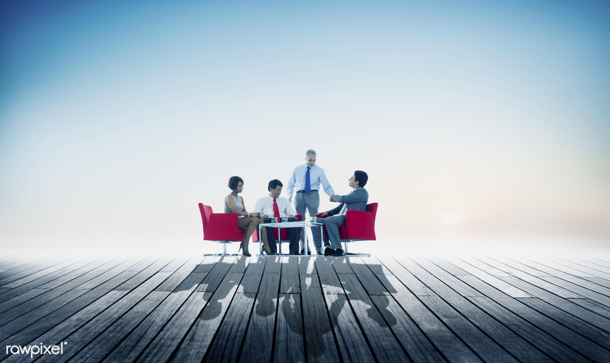 brainstorming, business, business people, businessmen, businesswomen, cloud, cloudy, colleague, communication, conference,...