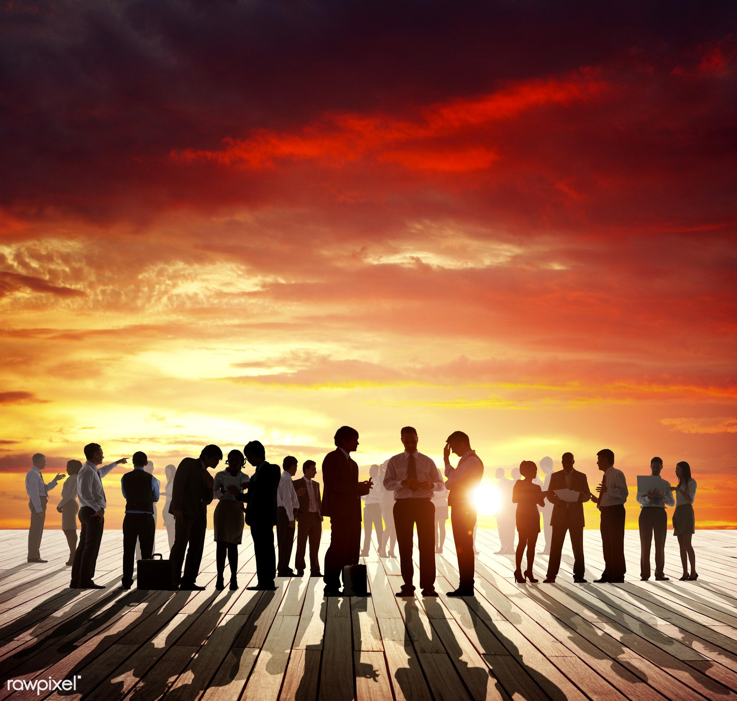 back lit, brainstorming, business, business people, businessmen, businesswomen, cloud, cloudscape, colleagues, communicate,...