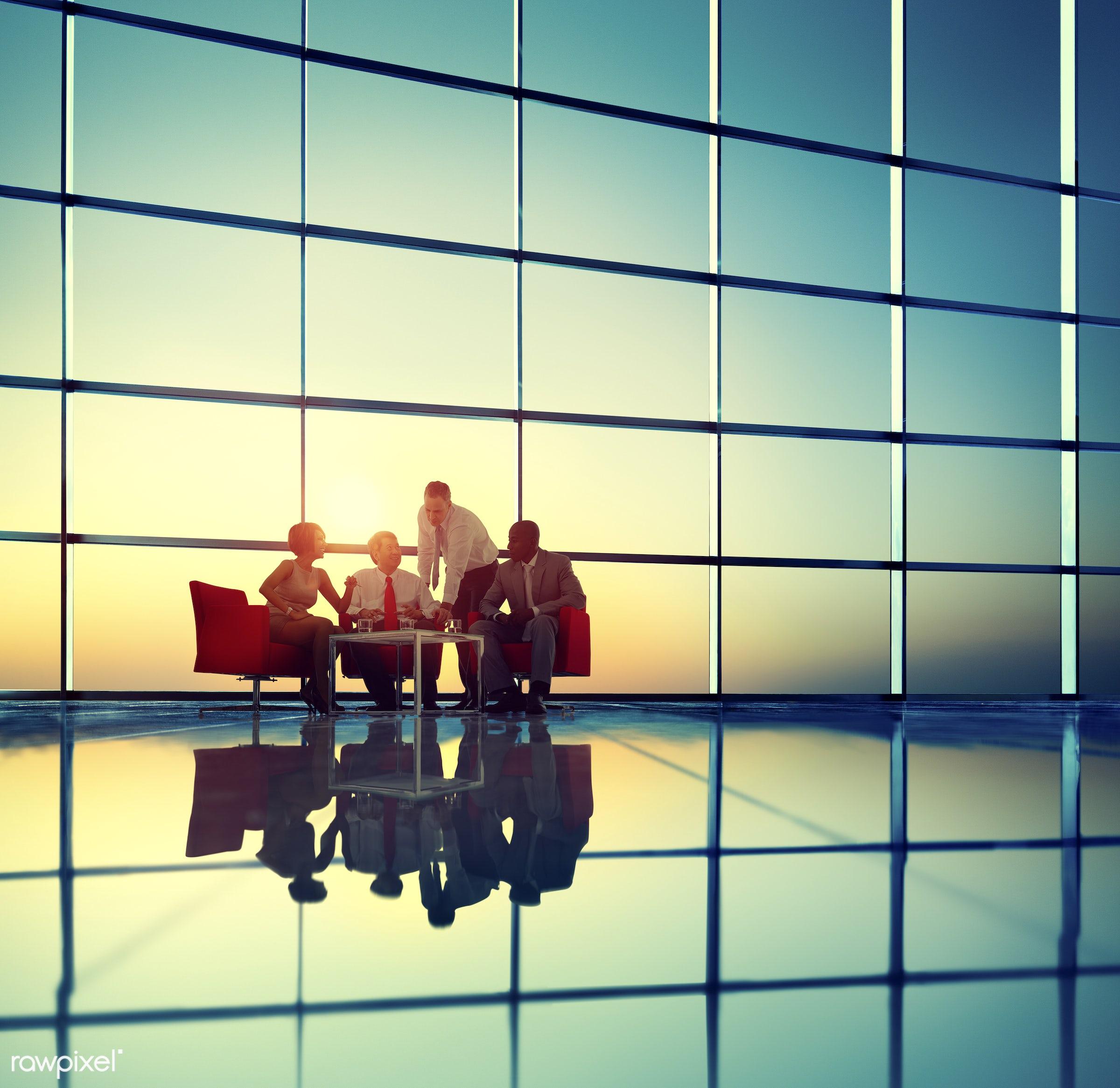 back lit, brainstorming, business, business people, businessmen, businesswomen, colleague, communication, conference,...