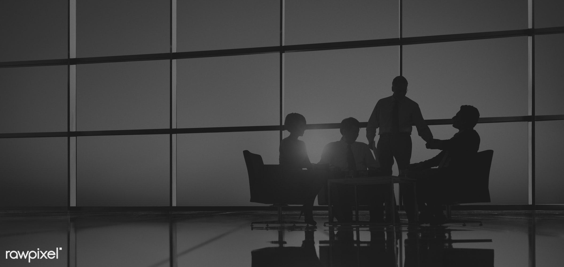 advise, back lit, brainstorming, business, business people, businessmen, businesswomen, colleagues, communication,...