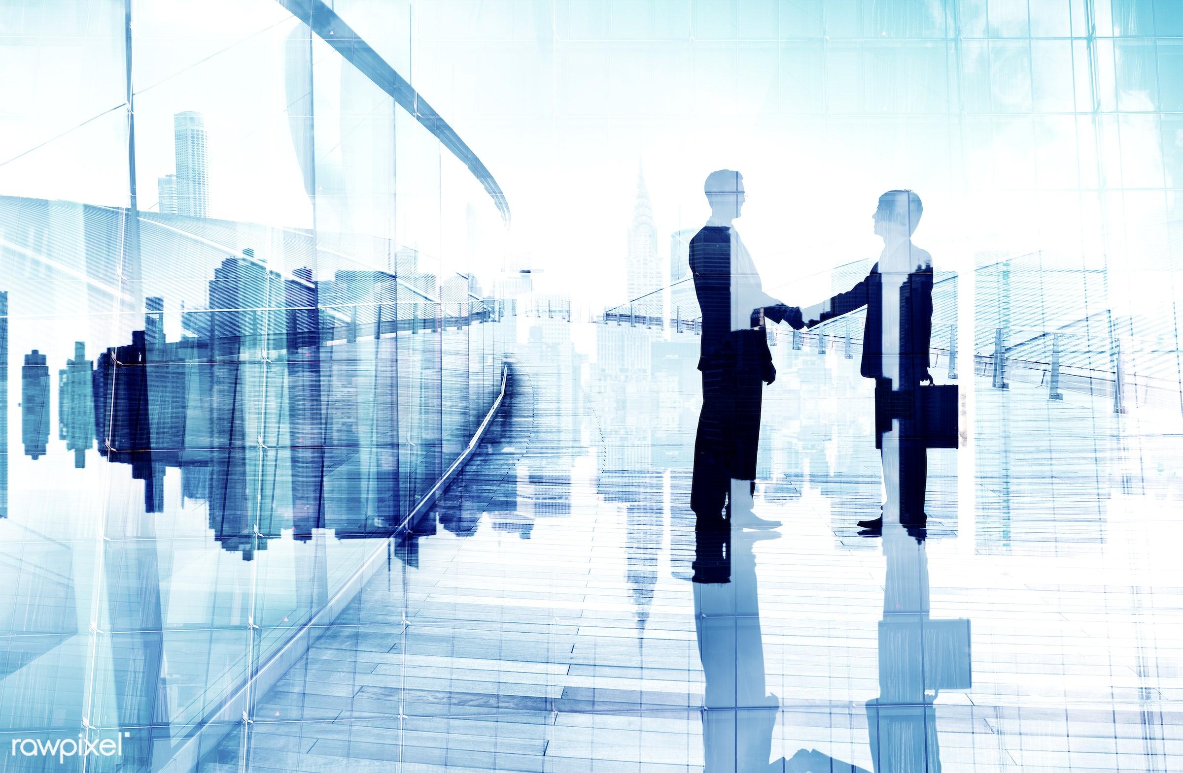 abstract, agreement, associate, back lit, business, business handshake, business people, business person, business...