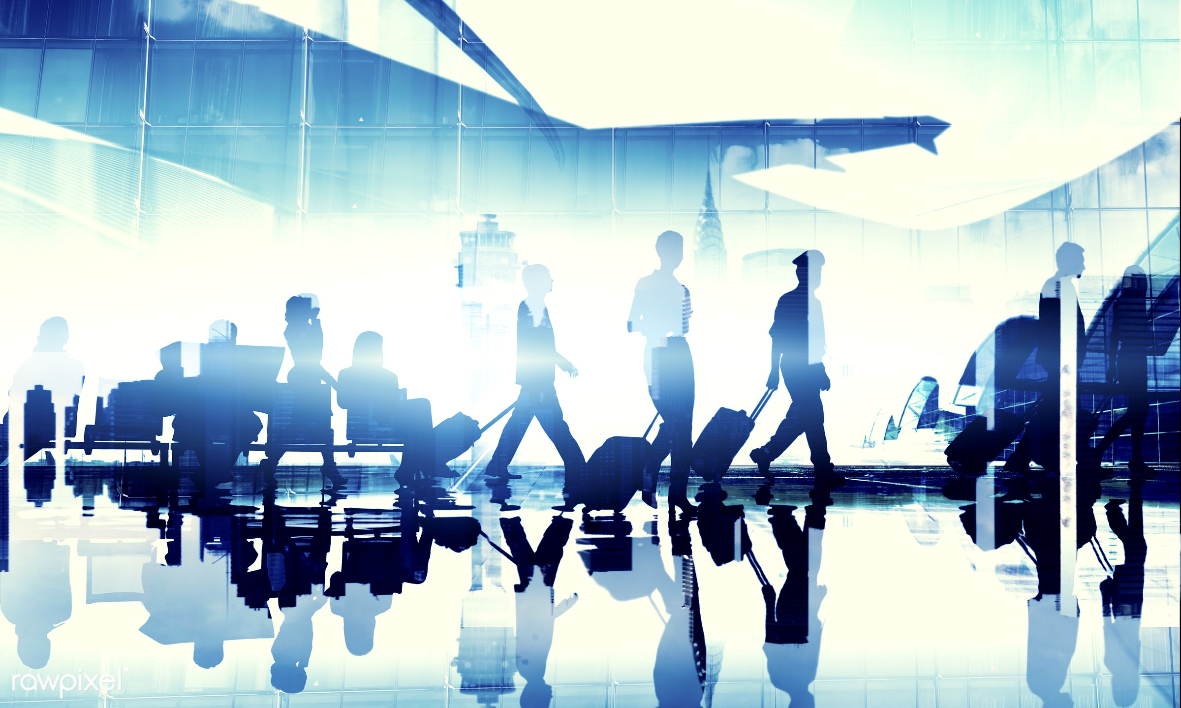 aircraft, airplane, airport, business, business people, business travel, businessmen, businesswomen, cabin crew, cloudscape...
