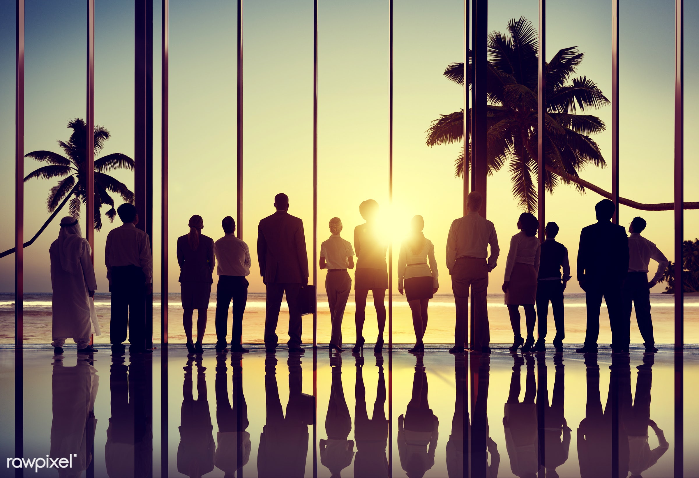 back lit, beach, business, business people, businessmen, businesswomen, colleague, corporate, corporate business, coworker,...