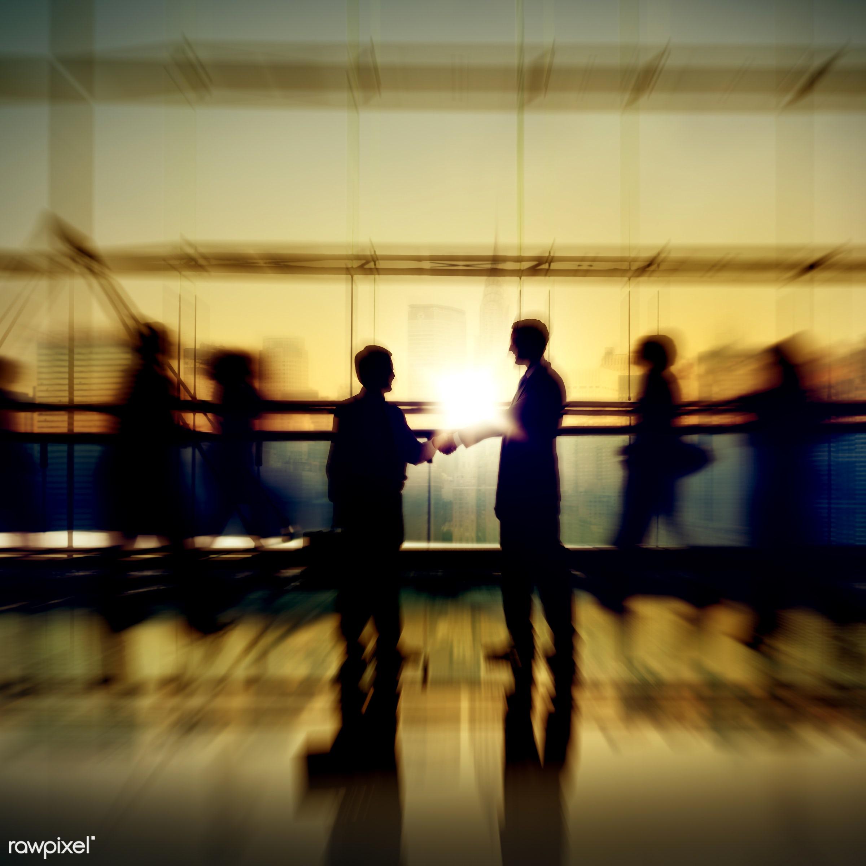 back lit, building, business, business people, businessmen, businesswomen, city, cityscape, colleague, communication,...