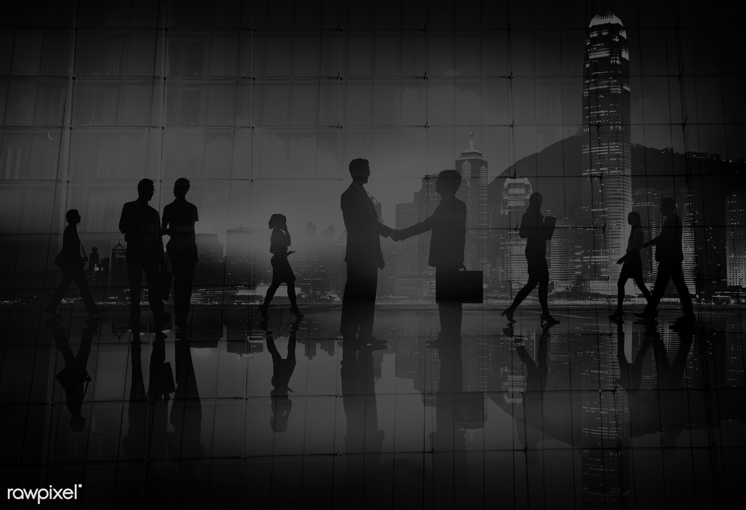 back lit, business, business people, businessmen, businesswomen, busy, cityscape, communication, commuter, contract,...