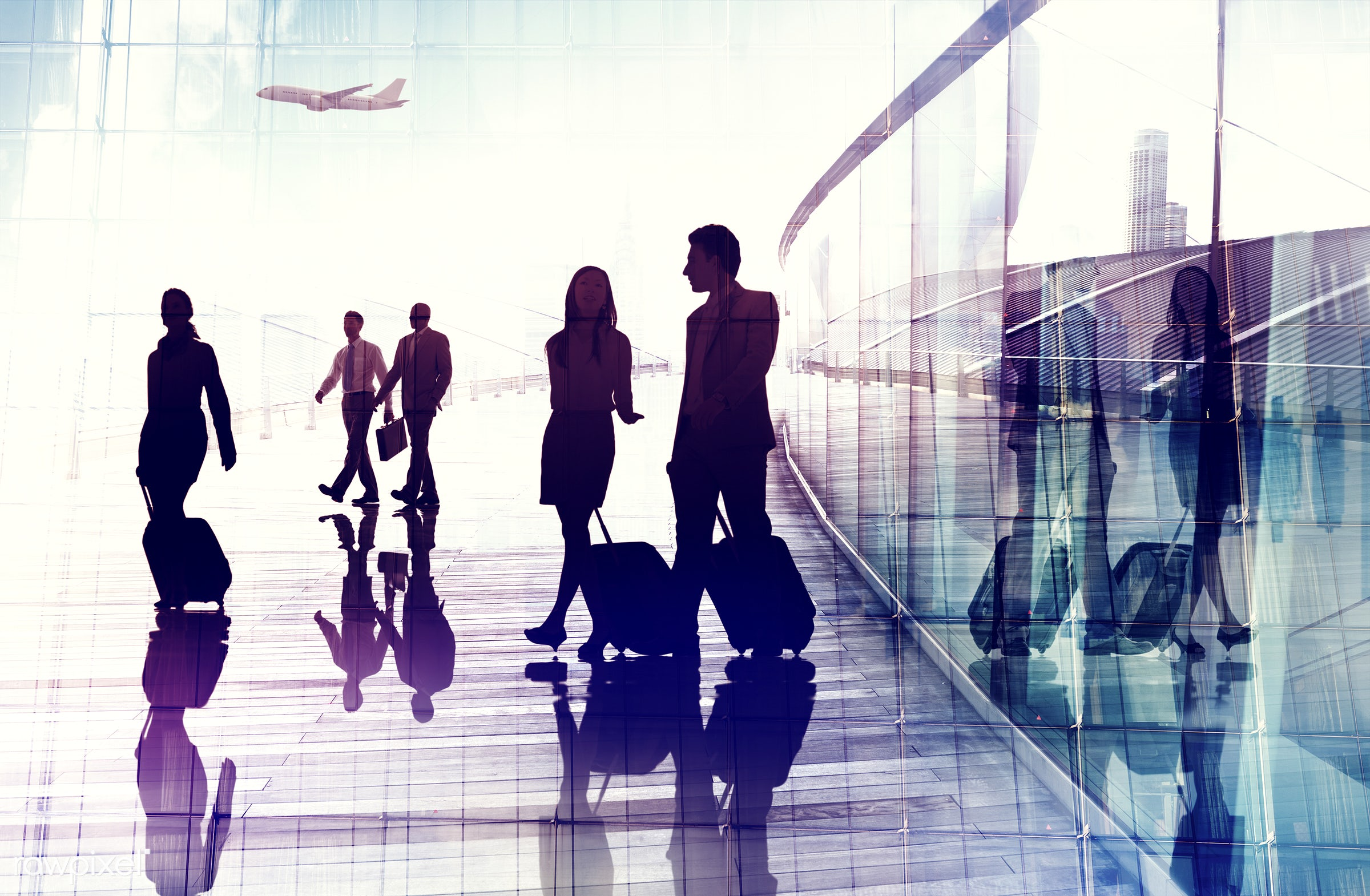 abstract, airplane, airport, back lit, building, business, business people, business travel, businessmen, businesswomen,...