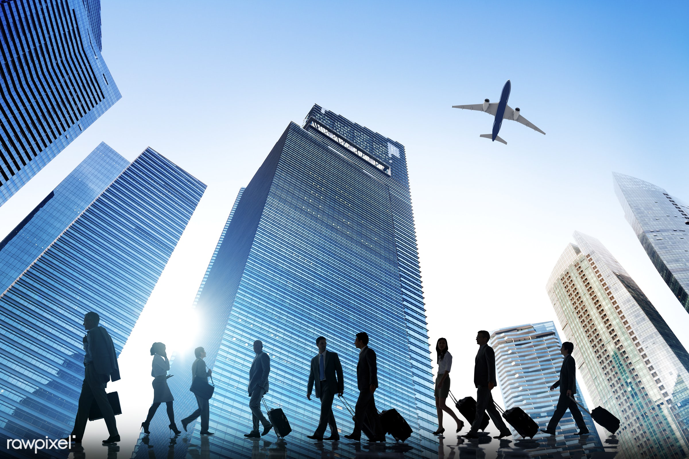 airplane, buildings, business, business people, business trip, businessmen, businesswomen, city, city scape, colleagues,...