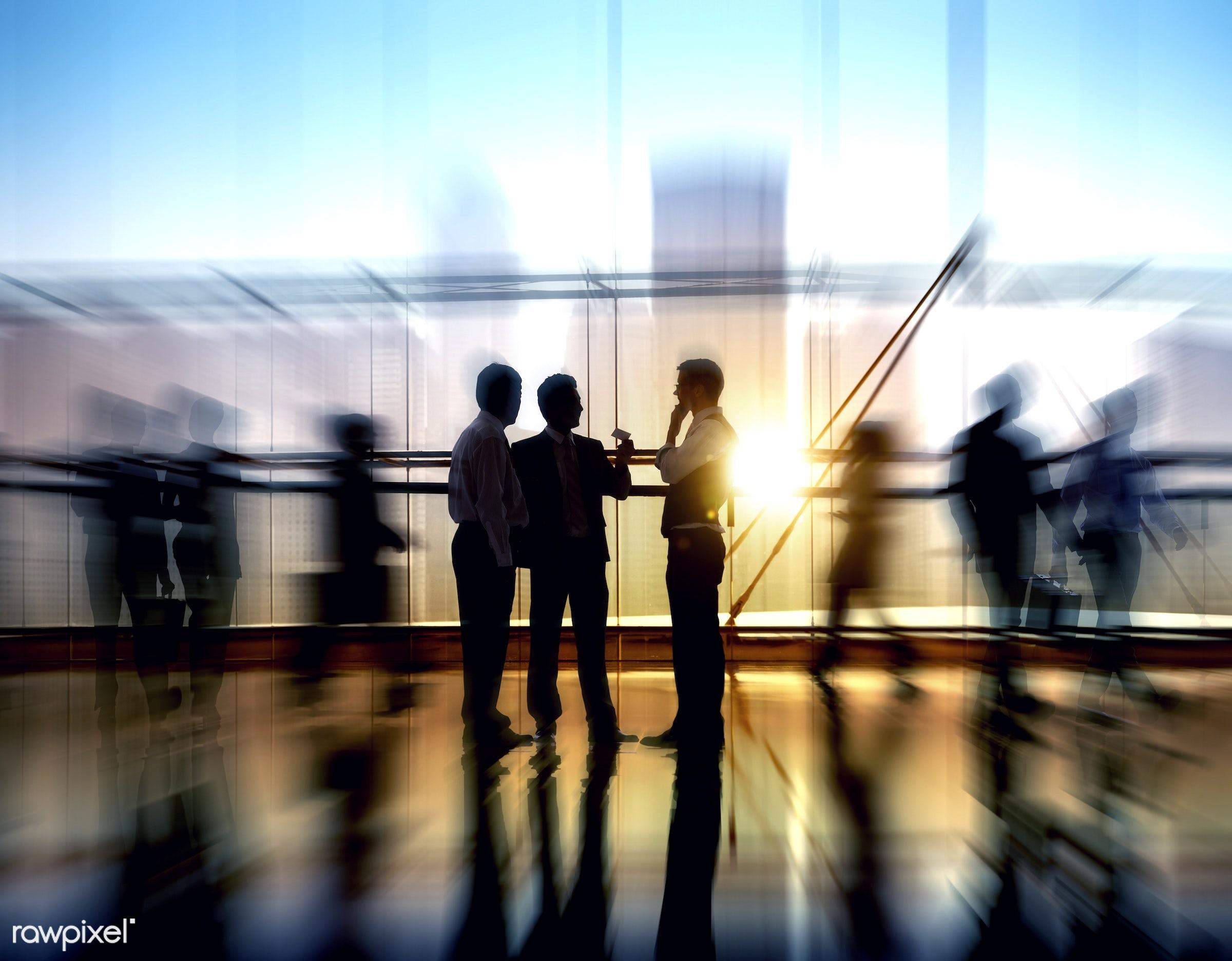 Dusk, activity, adult, agreement, briefcase, business, business partner, business people, business person, business...