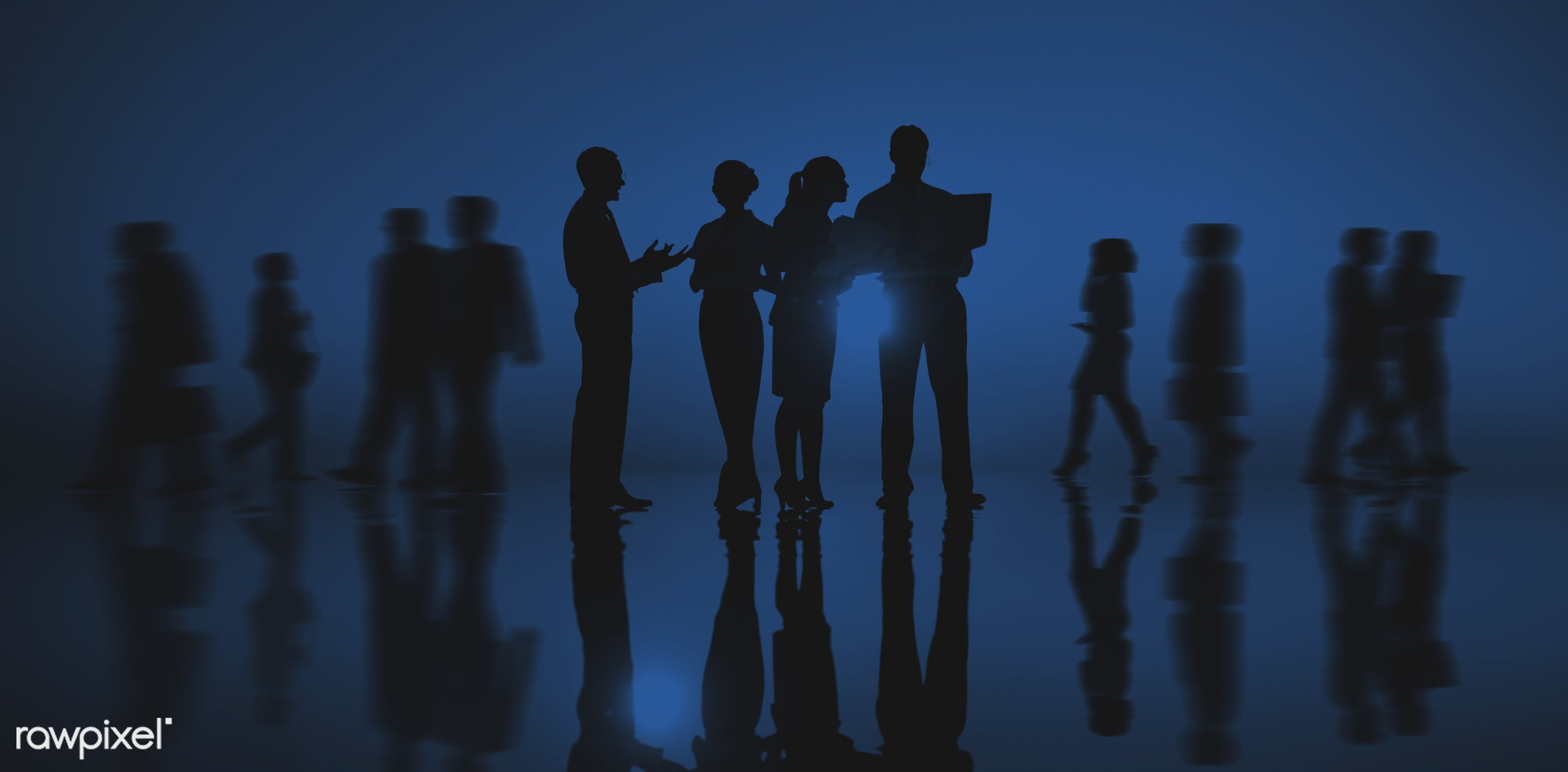 back lit, blue, blurred, business, businessmen, businesswomen, chatting, colleagues, communication, conference, connection,...