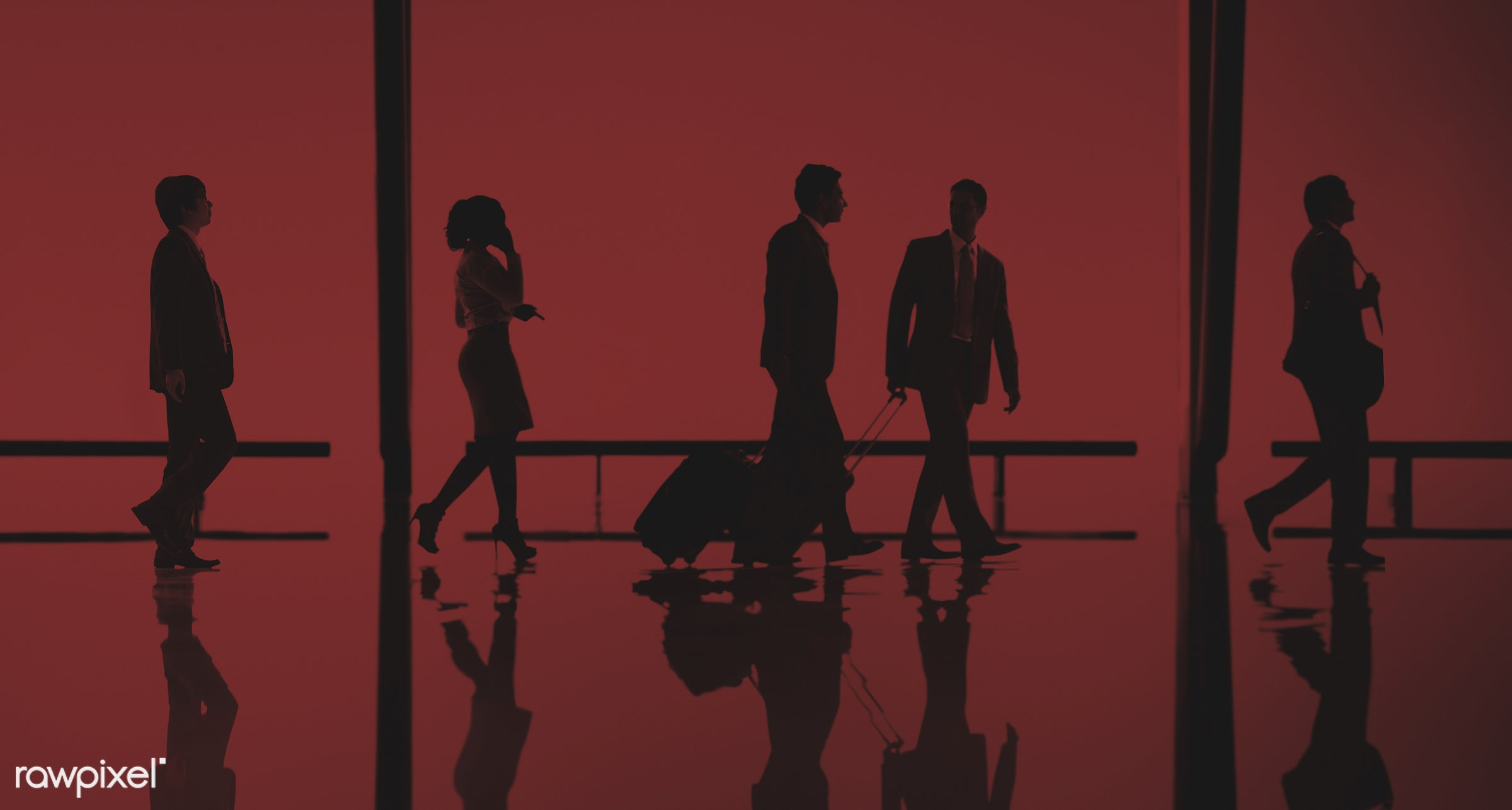 baggage, business, business people, business travel, businessmen, businesswomen, busy, calling, colleagues, communication,...