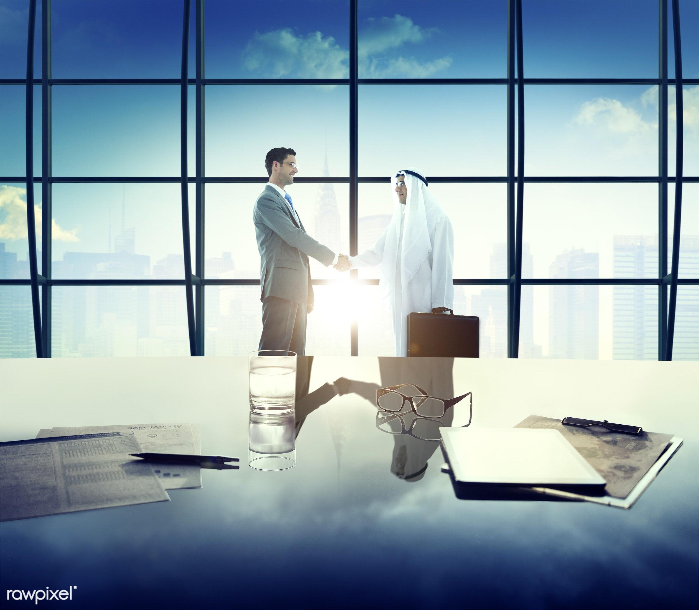 agreement, business, business people, businessmen, city, cityscape, colleagues, communication, concepts, connection,...