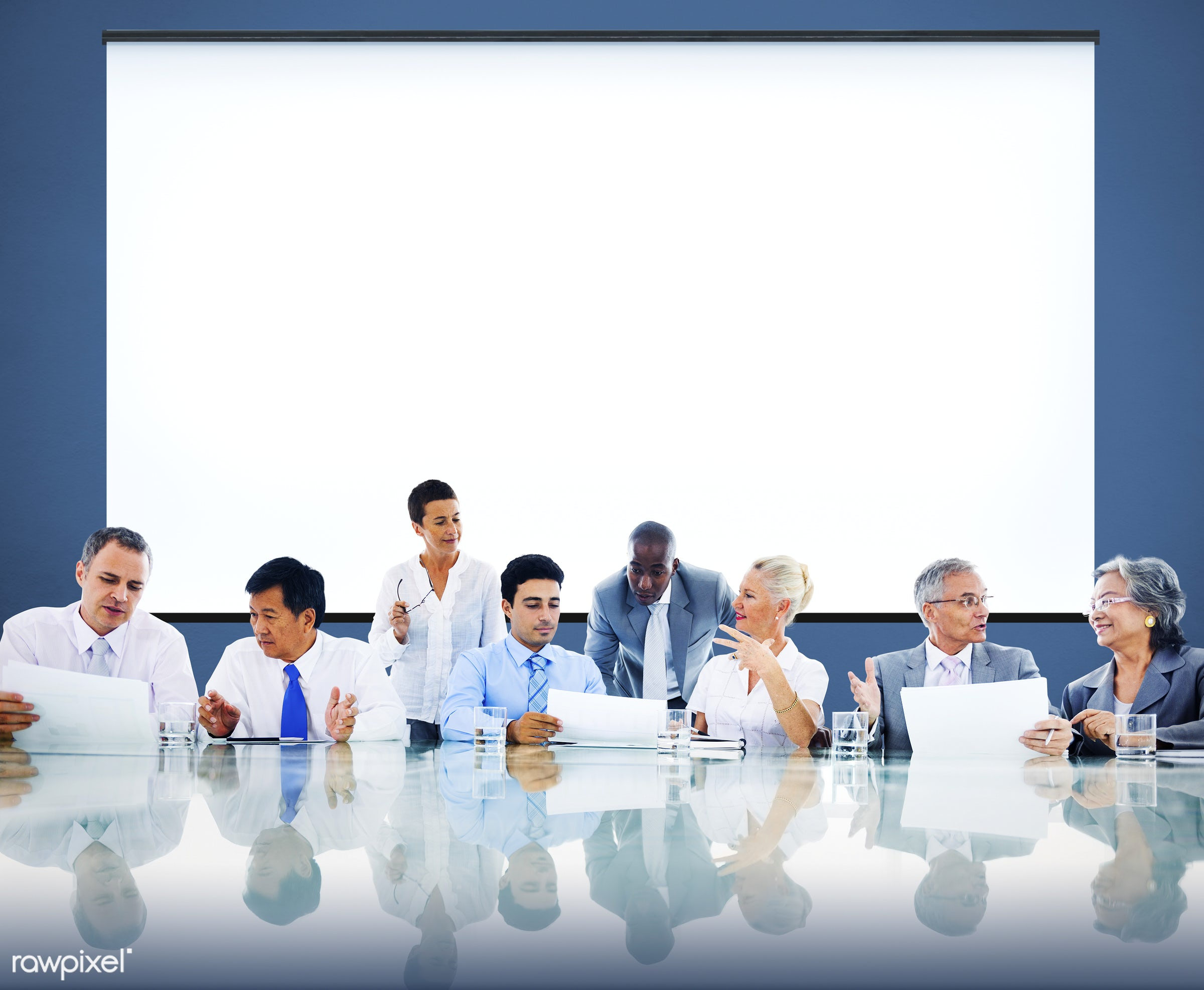 african, african descent, asian, asian ethnicity, board room, brainstorming, business, business people, businessmen,...