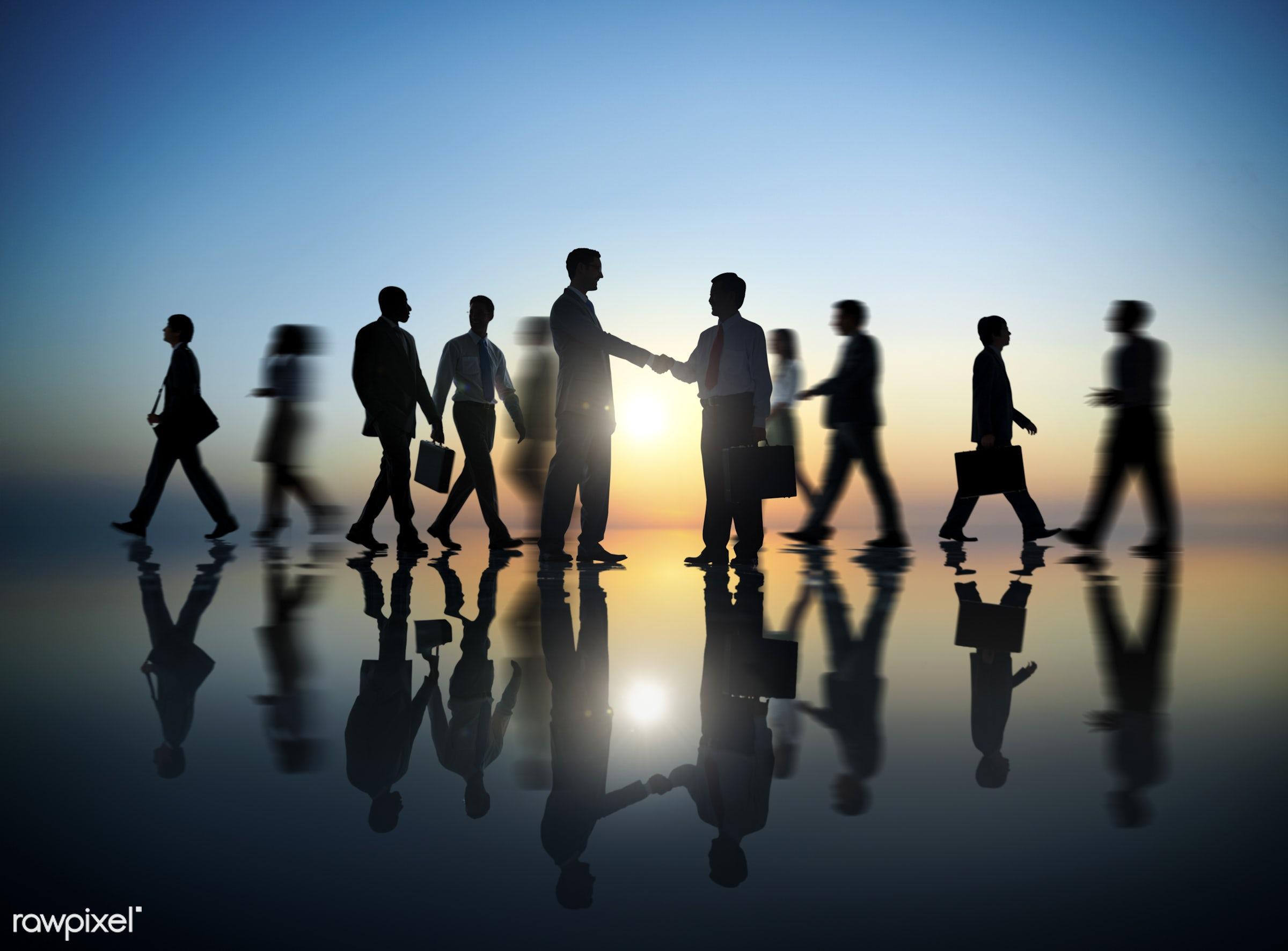 back lit, blurred motion, brainstorming, business, business people, business person, businessman, businesswoman,...