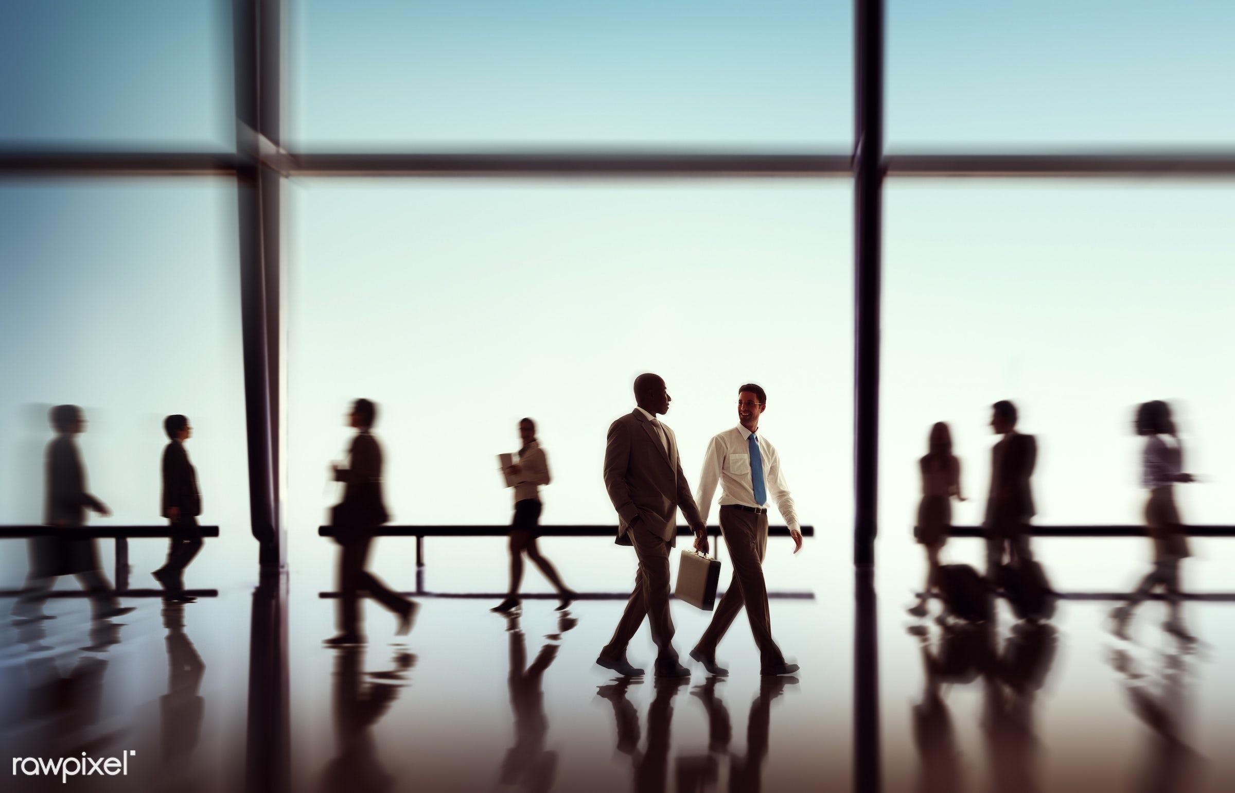 african descent, back lit, brainstorming, briefcase, business, business people, business travel, businessmen, businesswomen...